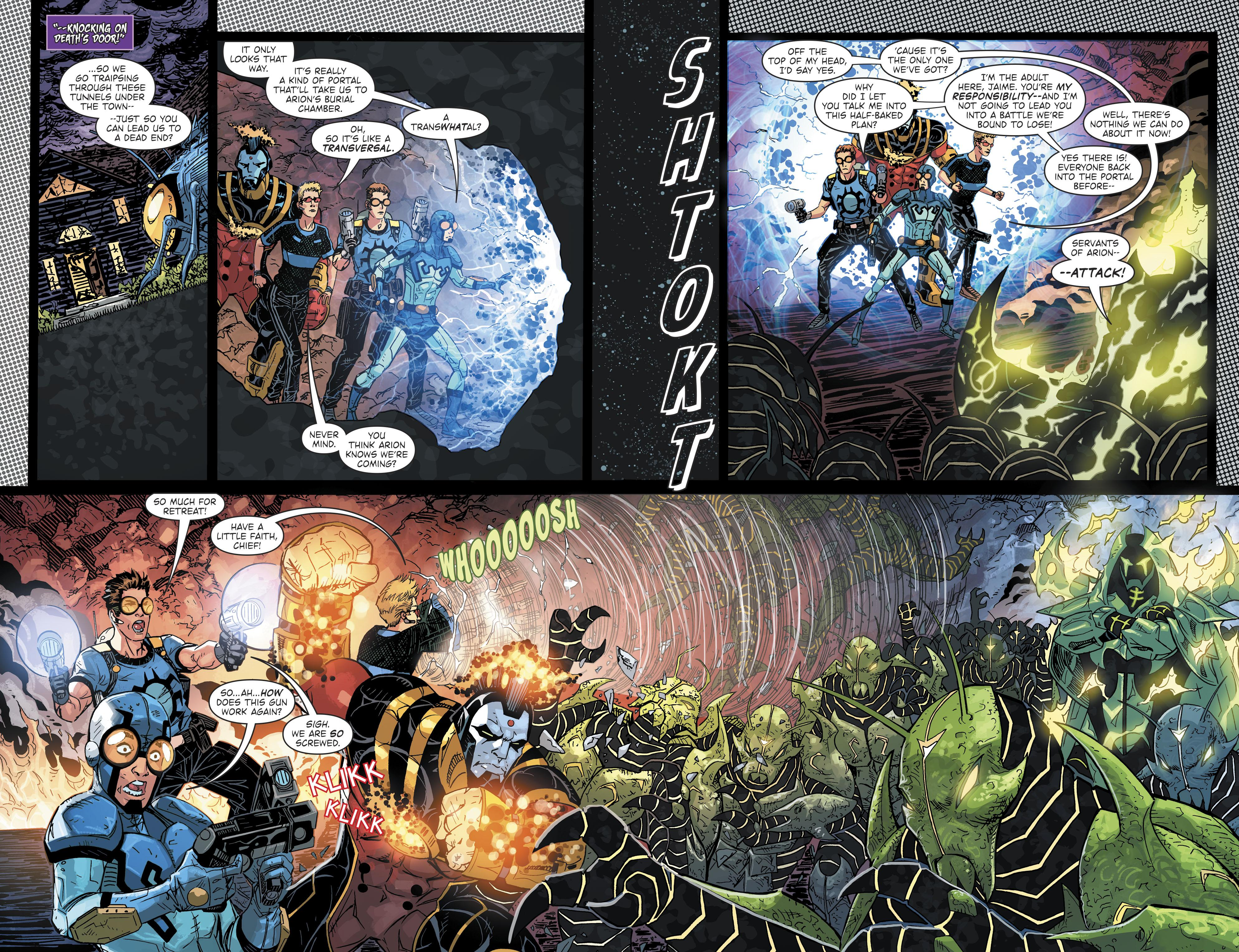 Blue Beetle Hard Choices review