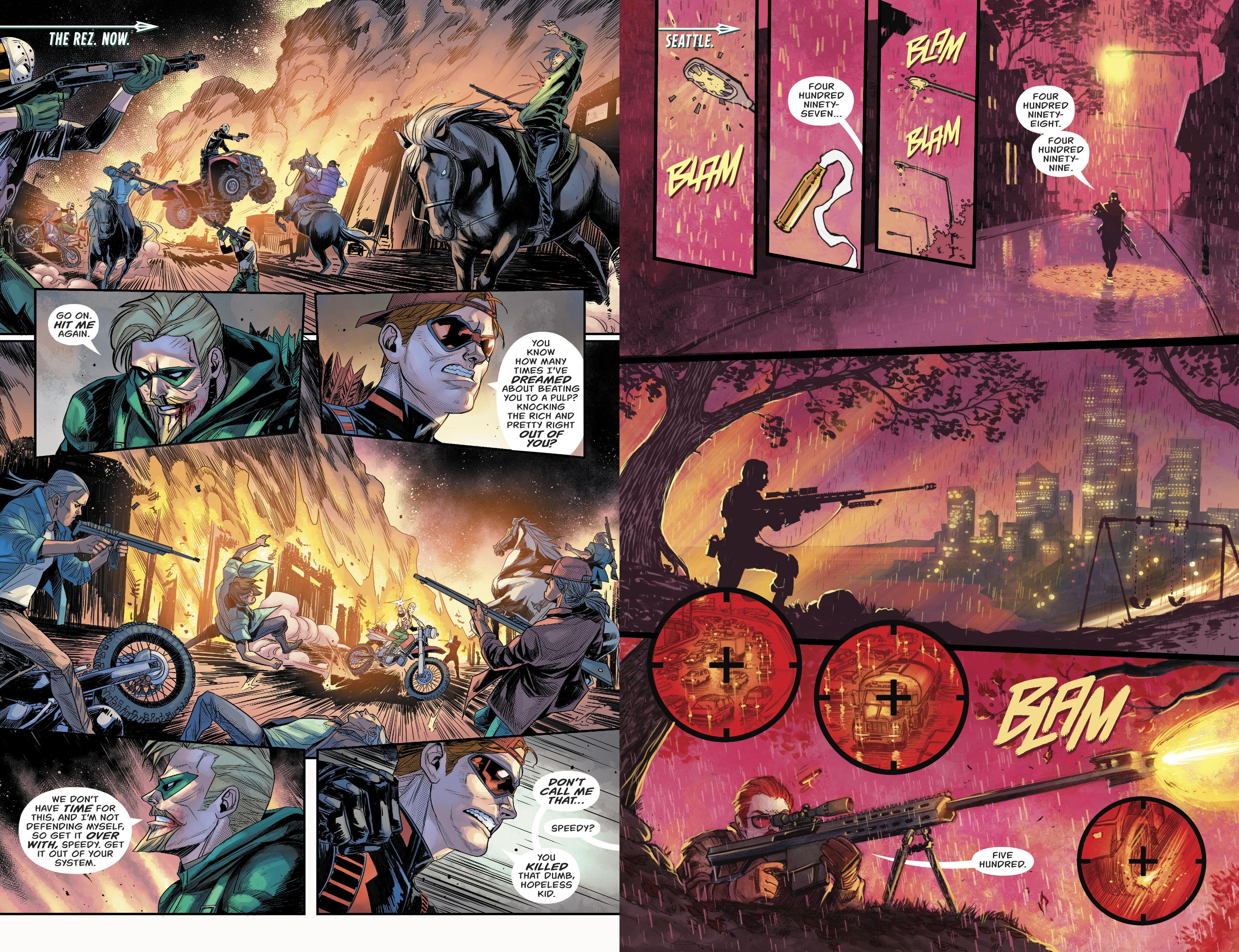 Green Arrow The Rise of Star City review