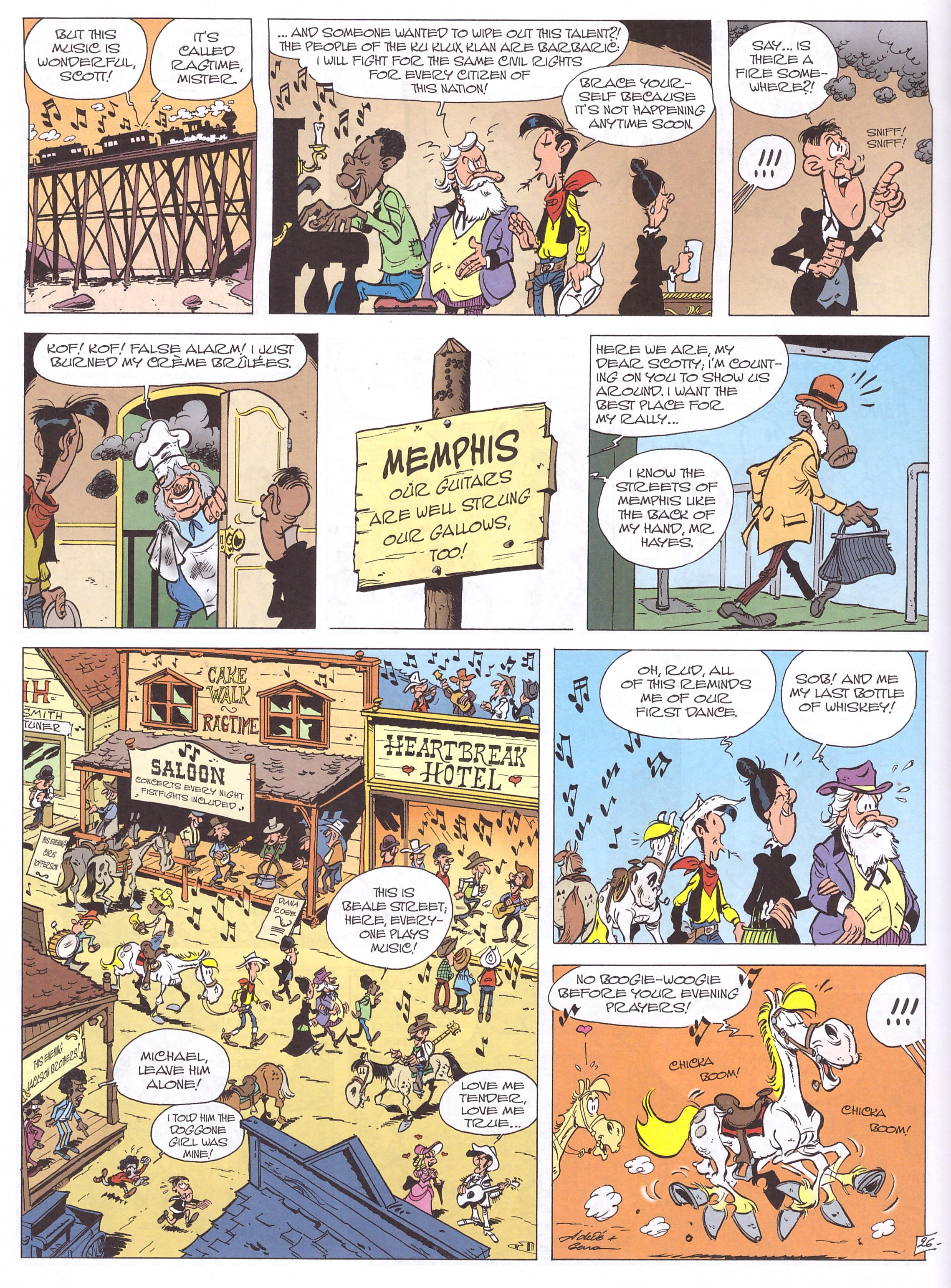 Lucky Luke The Man From Washington review
