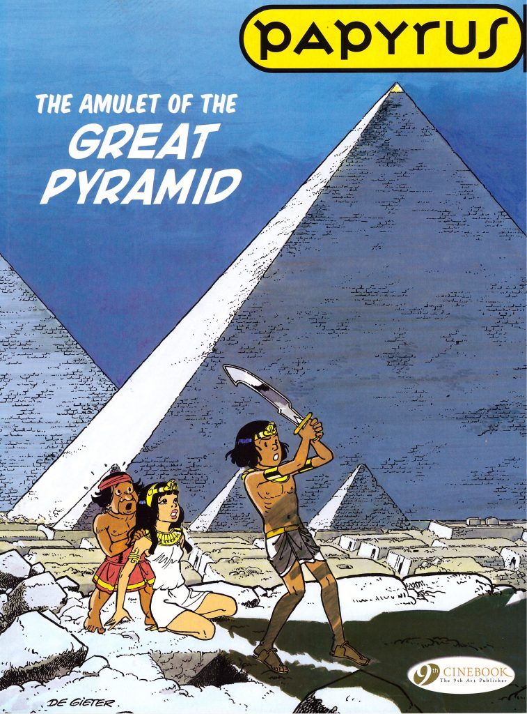 Papyrus: The Amulet of the Great Pyramid