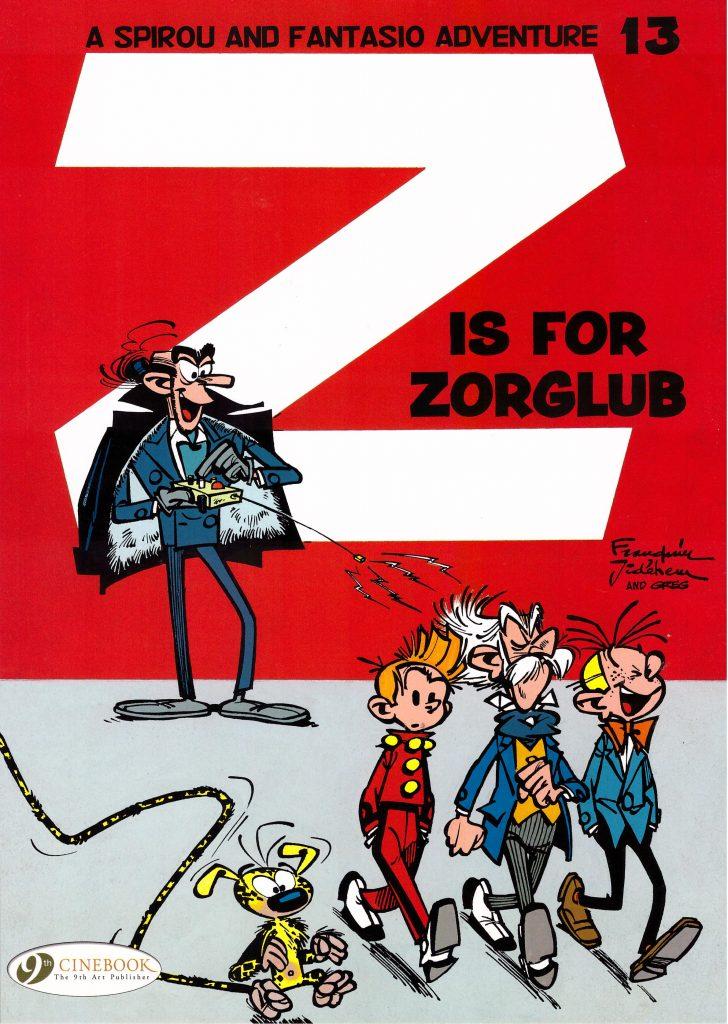 Spirou and Fantasio: Z is for Zorglub