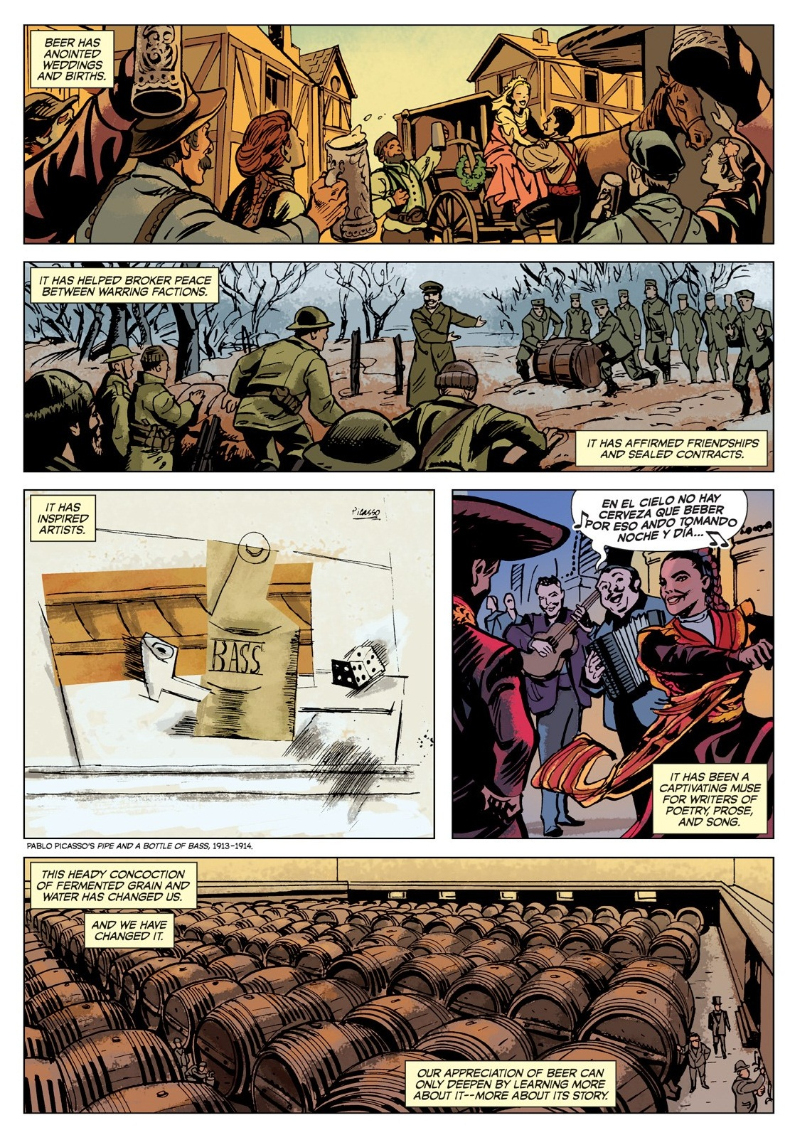 The Comic Book Story of Beer review