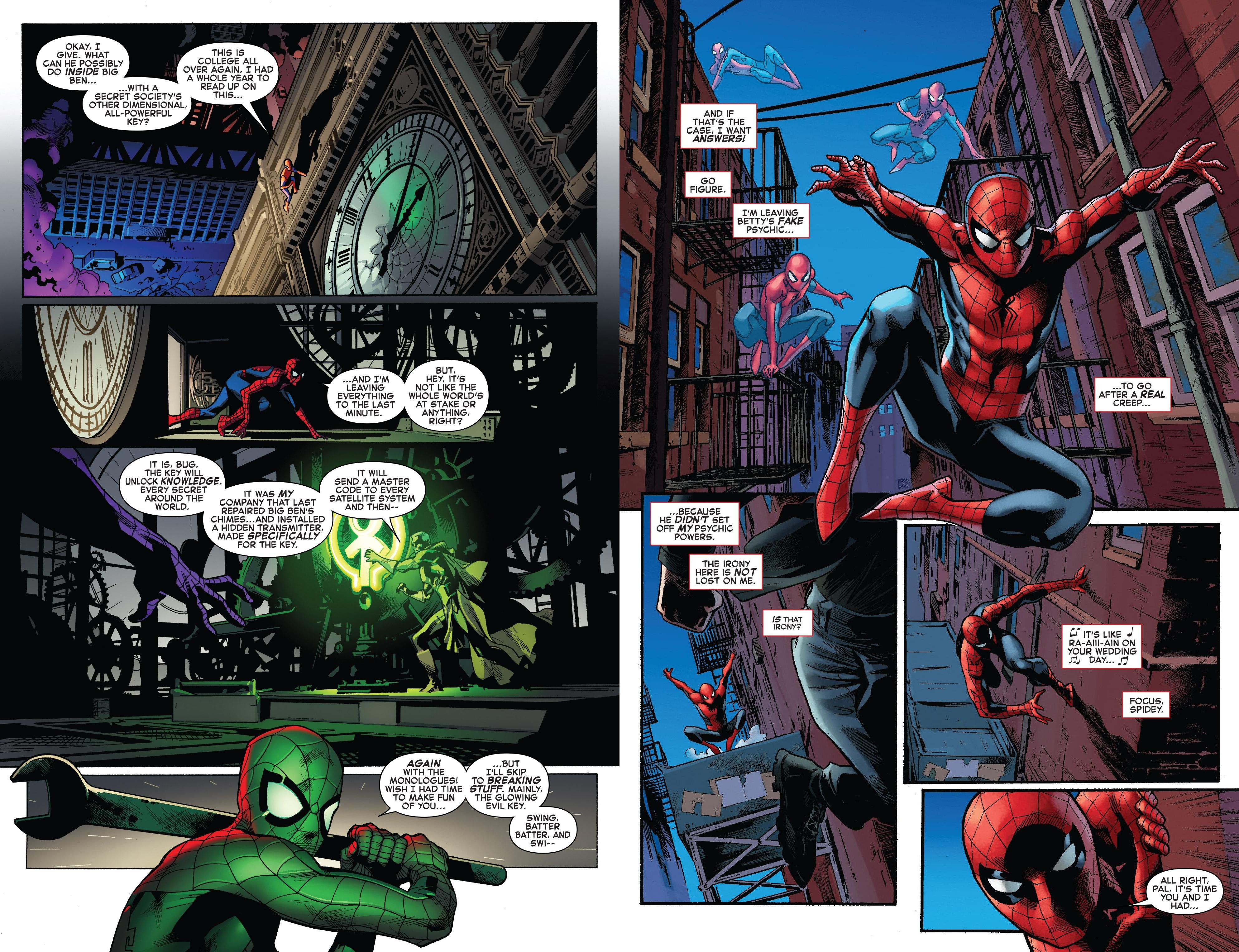 Amazing Spider-Man Worldwide V8 Threat Level Red review
