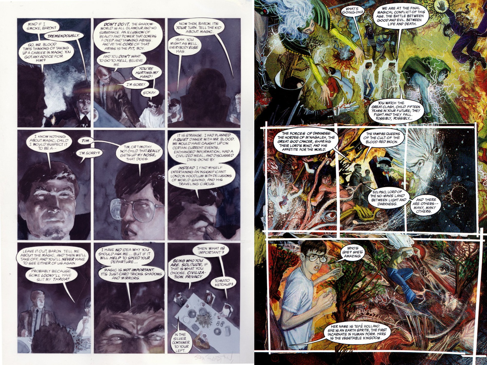 The Books of Magic graphic novel review