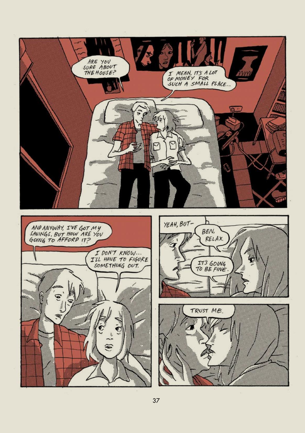 Bottled graphic novel review