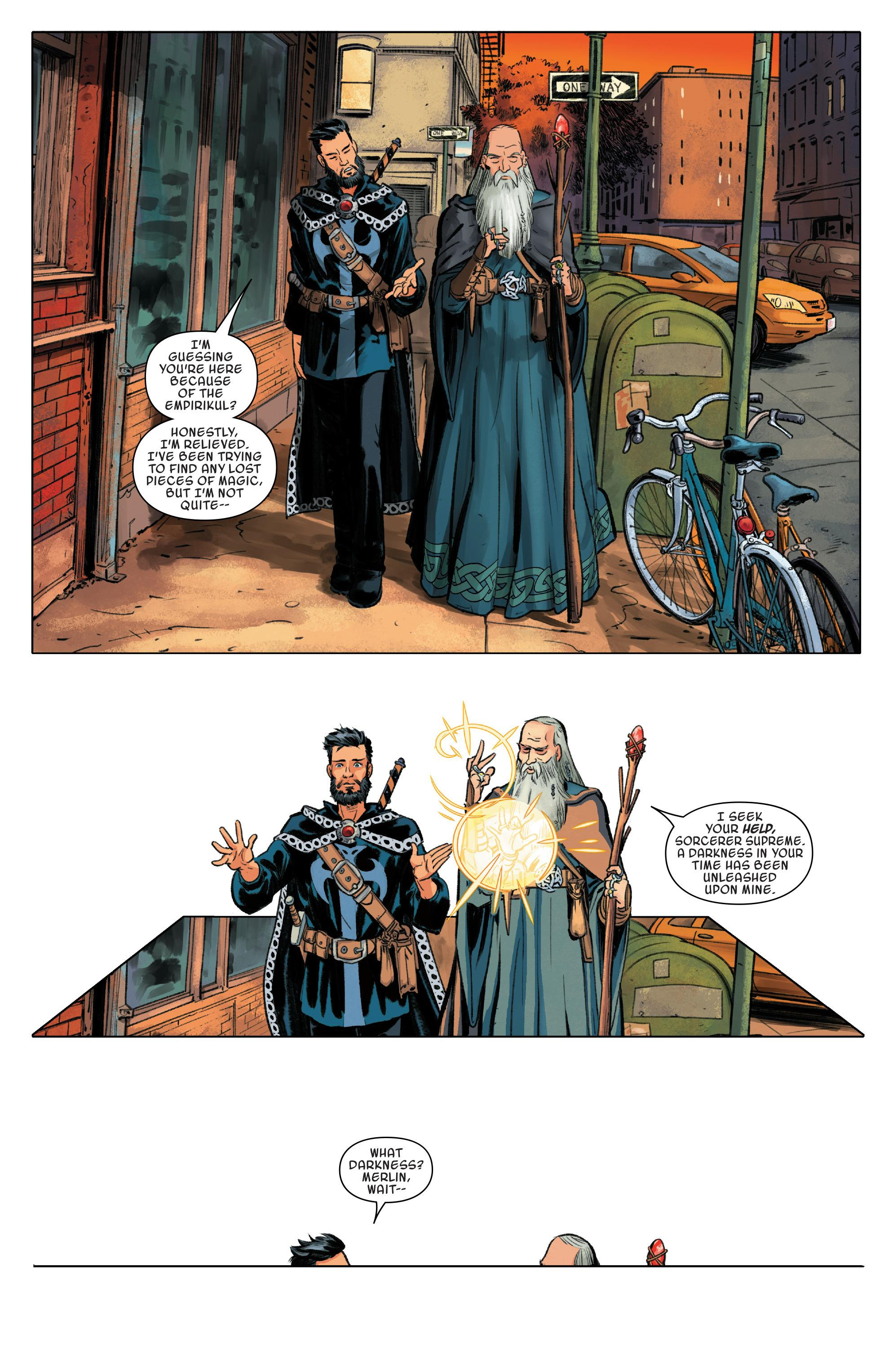 Doctor Strange and the Sorcerers Supreme - Out of Time review