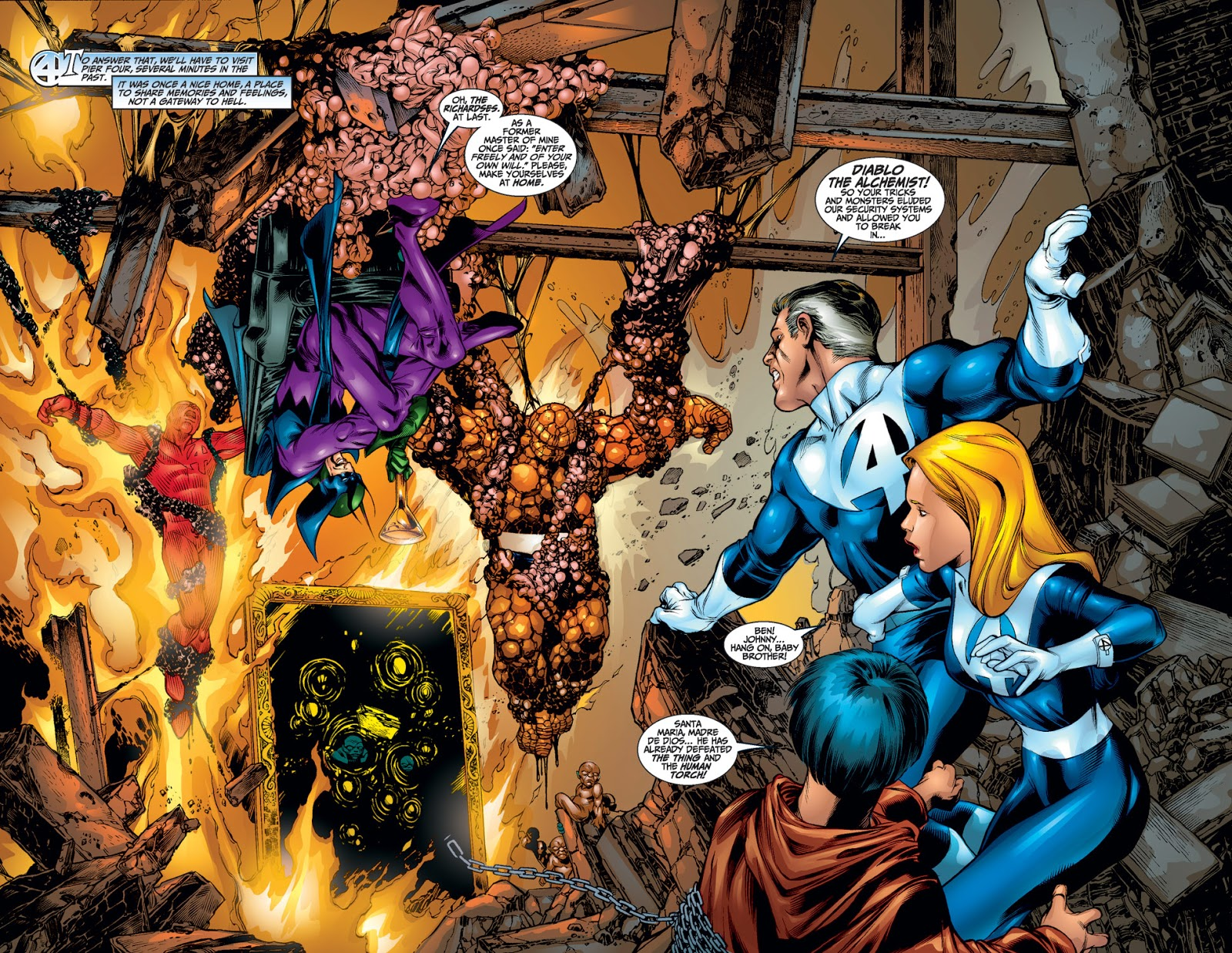 Fantastic Four Flesh & Stone review