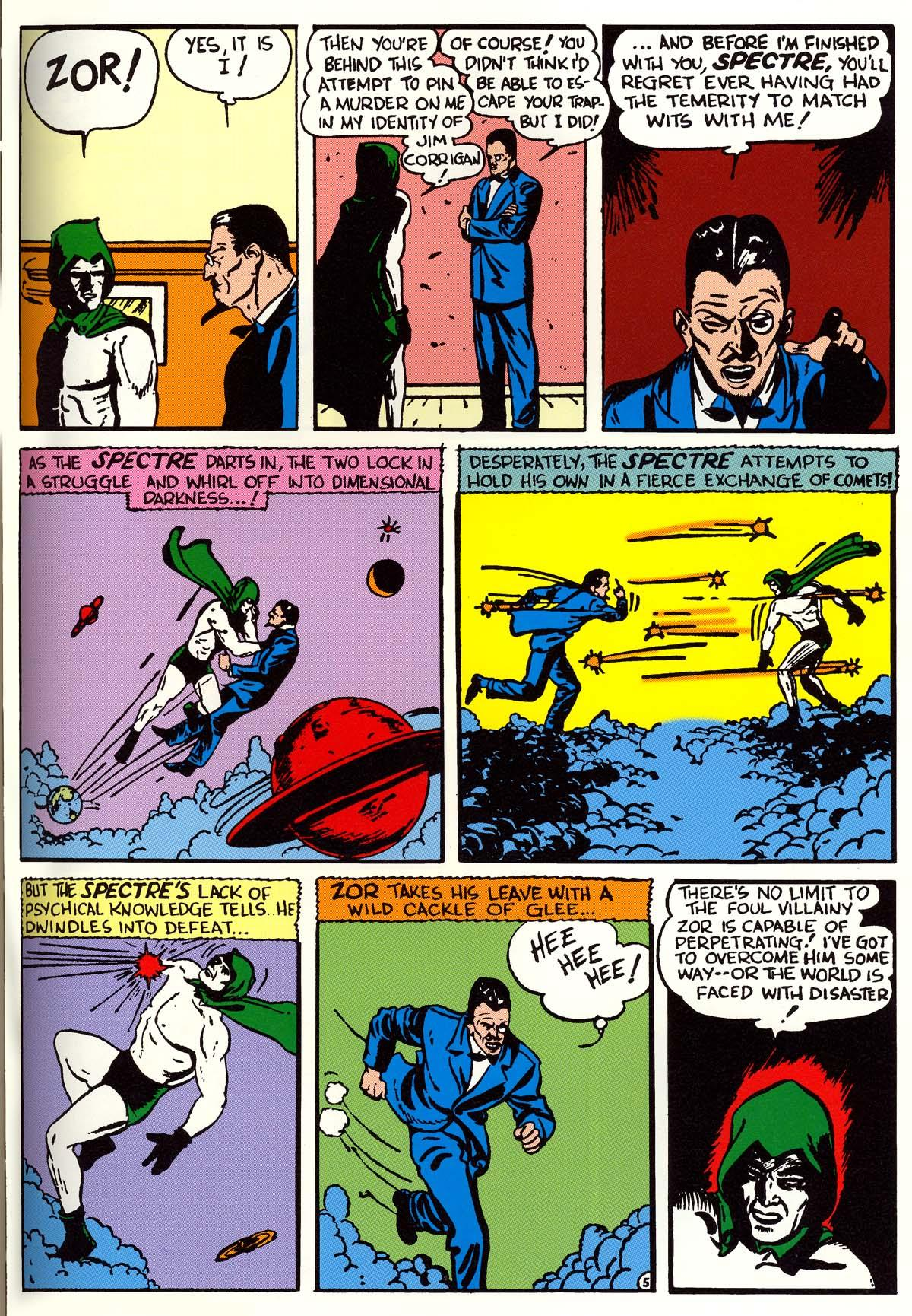 The Golden Age Spectre Archives review