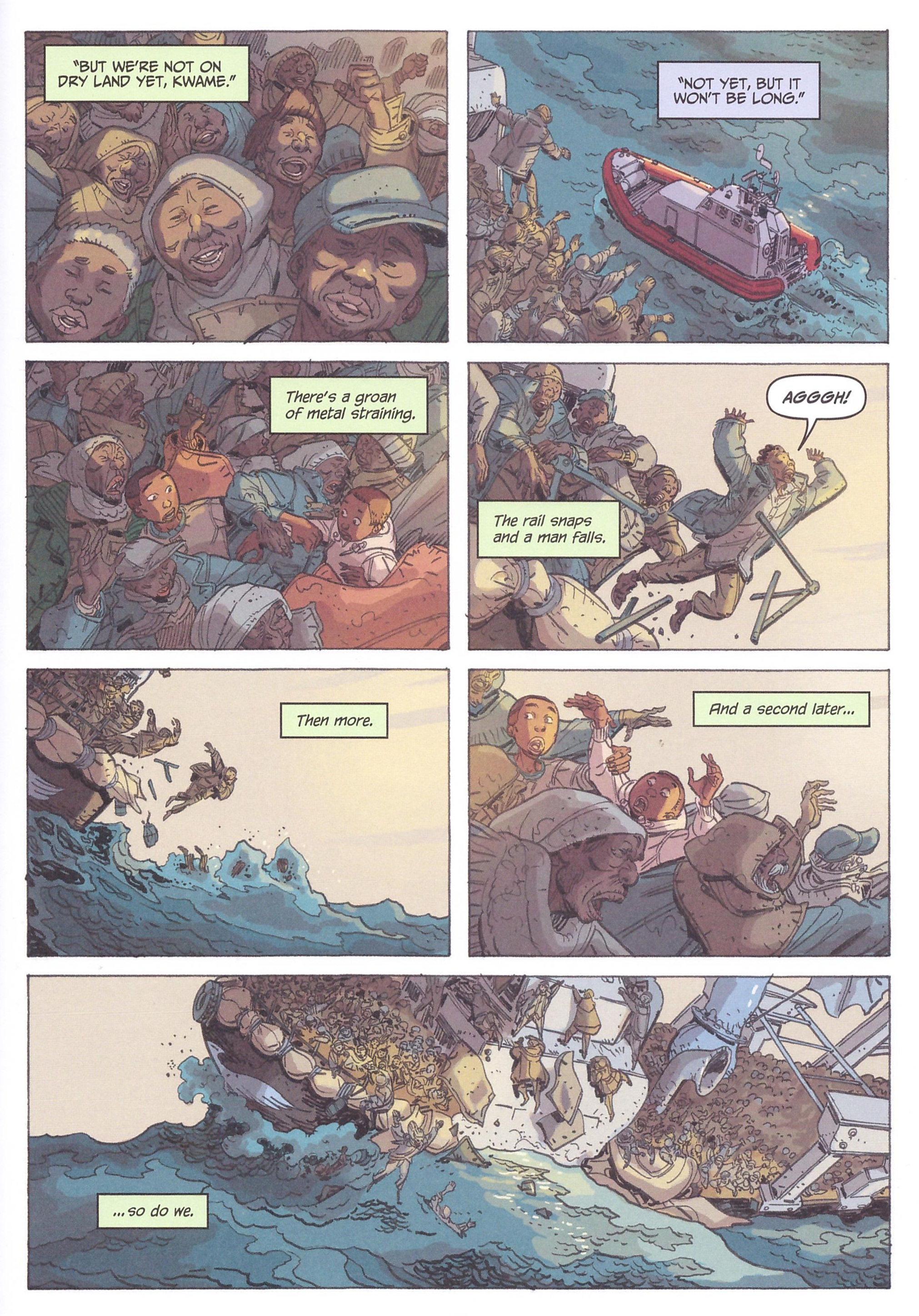 Illegal graphic novel review