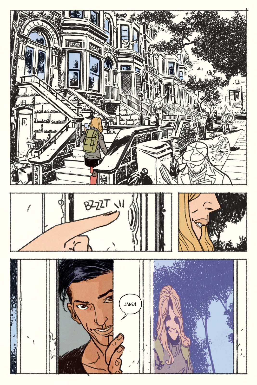 Jane graphic novel review