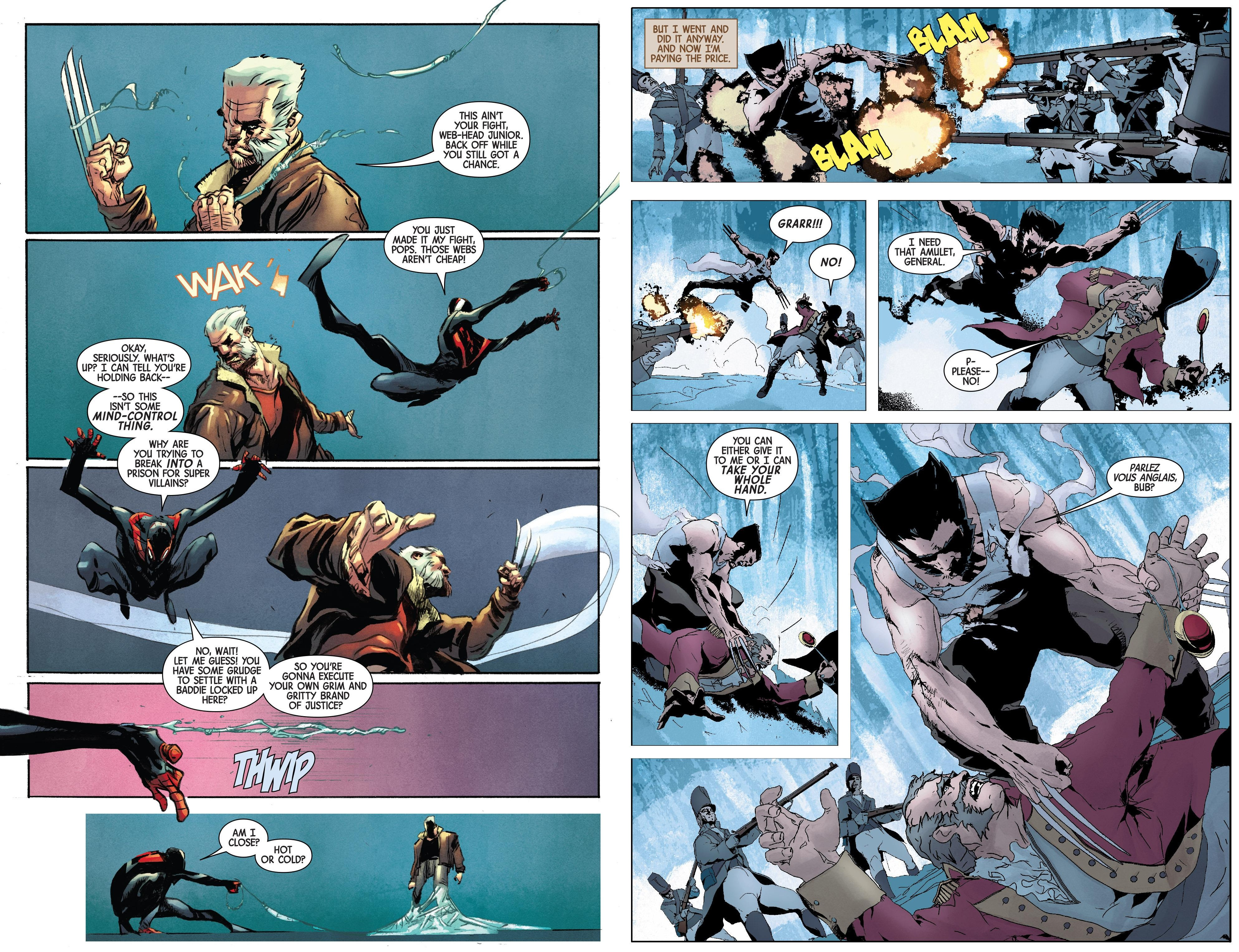 Old Man Logan Past Lives review