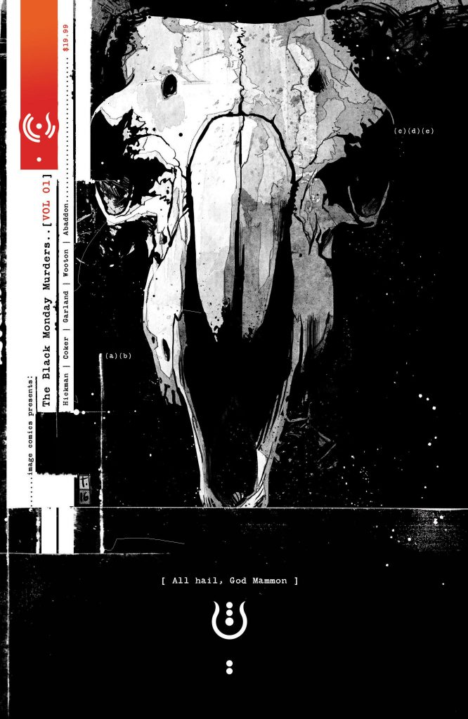 The Black Monday Murders 01: All Hail Mammon
