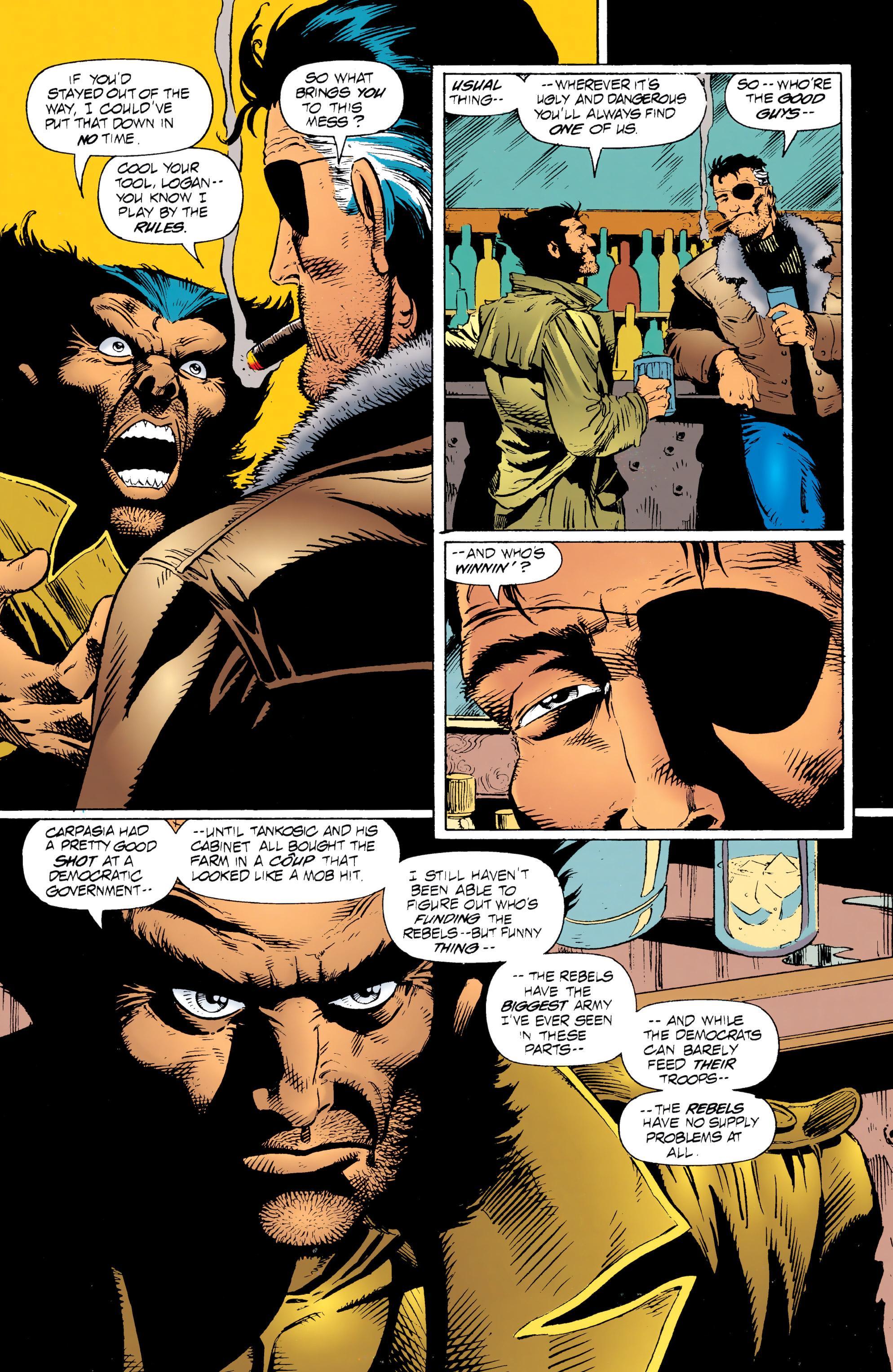 Wolverine and Nick Fury - Scorpio review