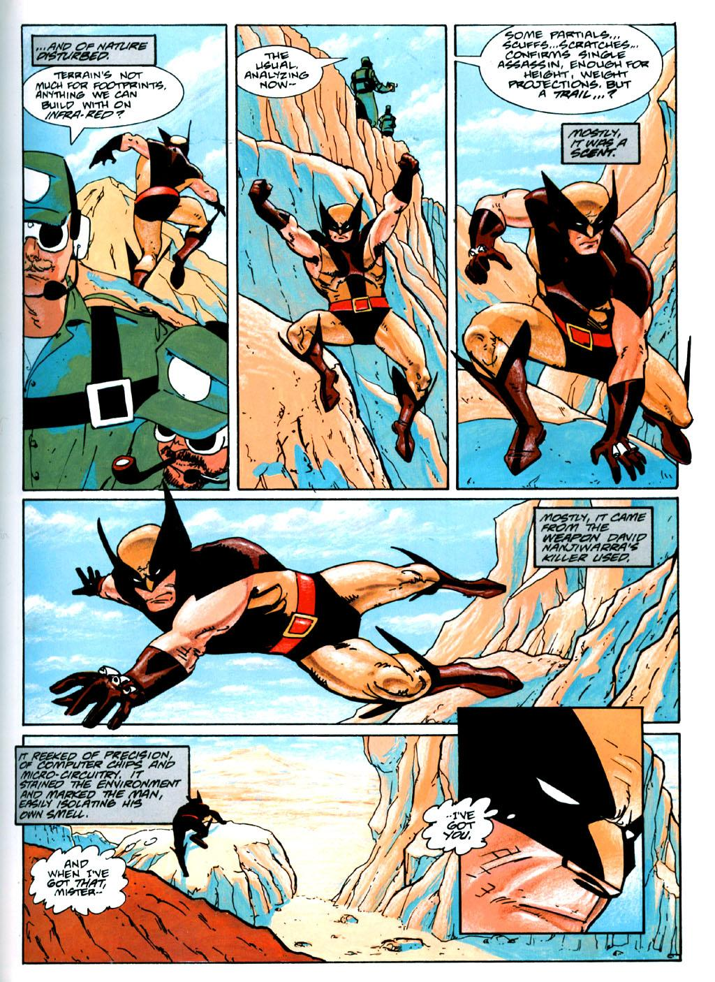 Wolverine and Nick Fury The Scorpio Connection review