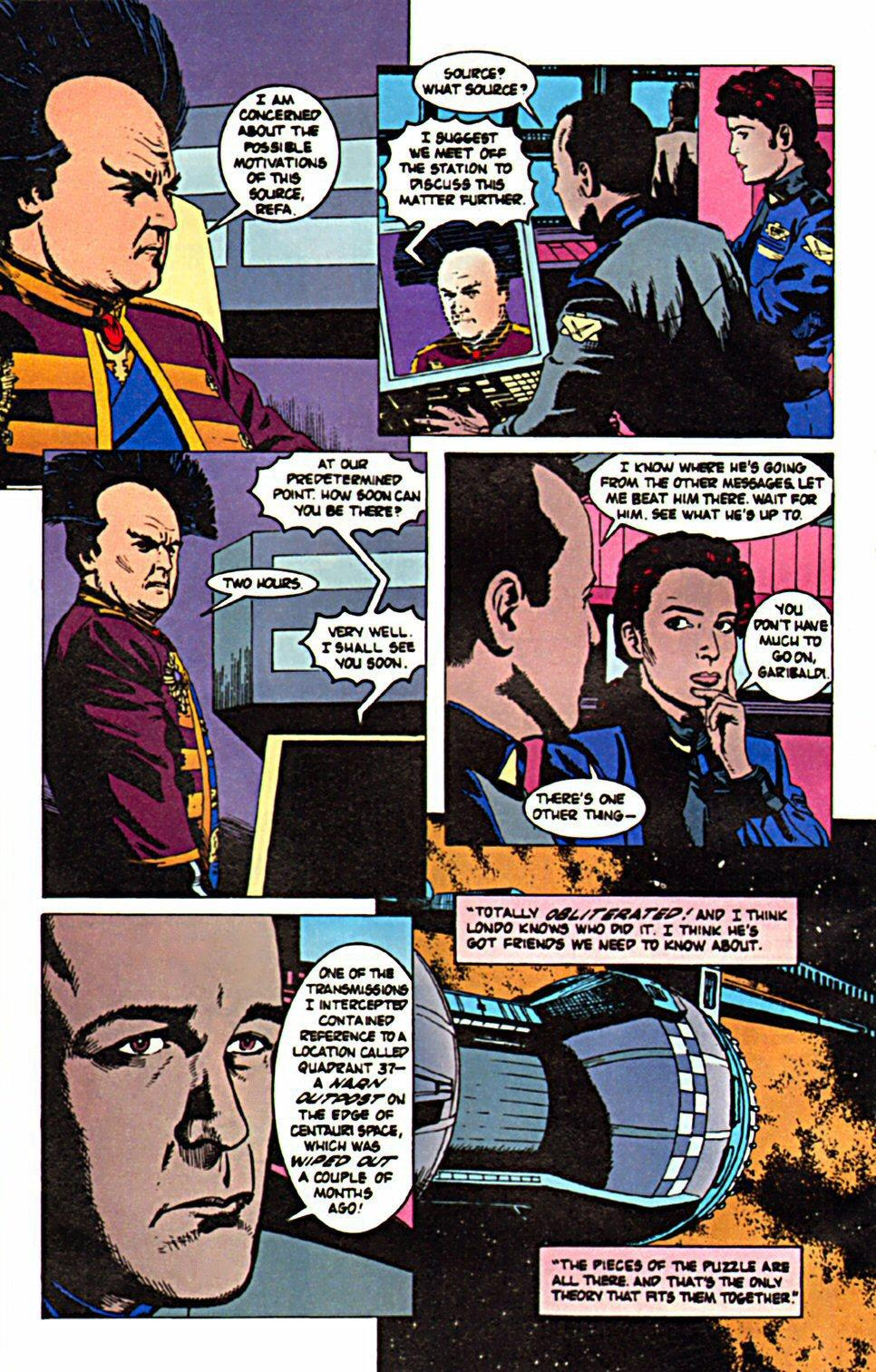 Babylon 5 Shadows Past and Present review