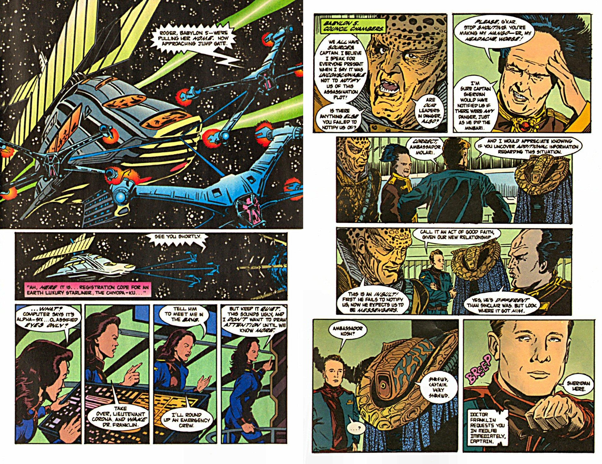 Babylon 5 The Price of Peace review