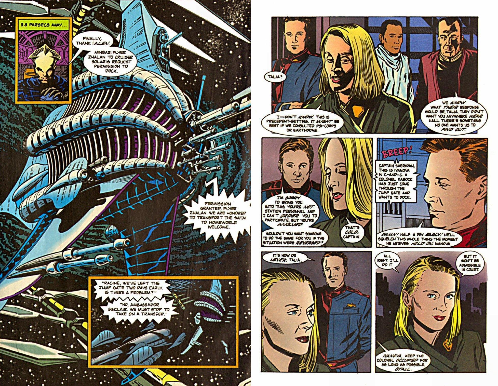 Babylon 5 graphic novel review
