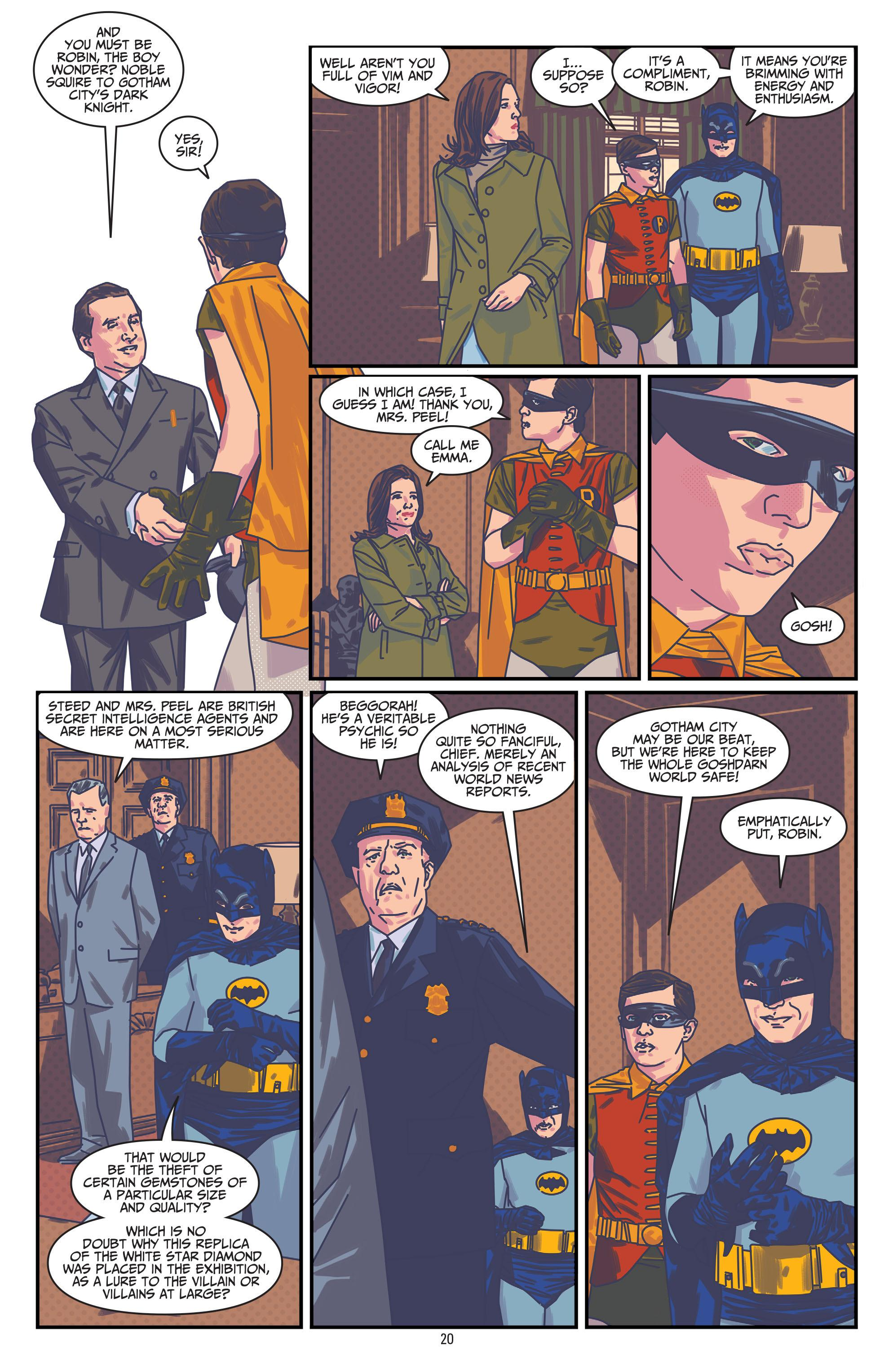 Batman '66 Meets Steed and Mrs. Peel review