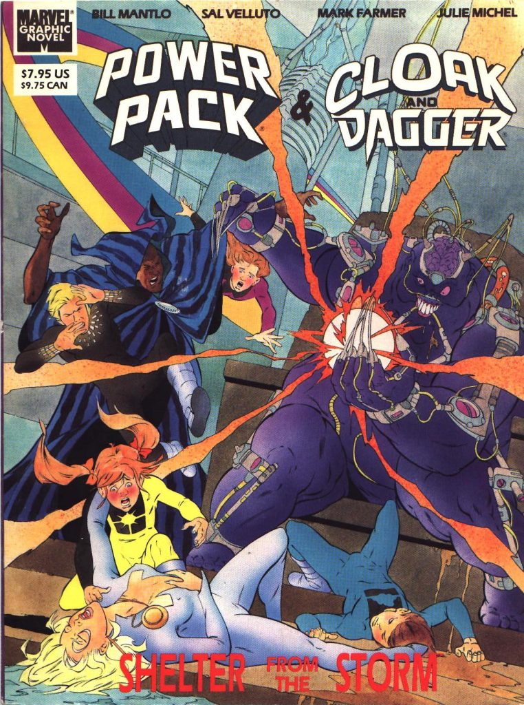 Power Pack and Cloak & Dagger: Shelter From the Storm