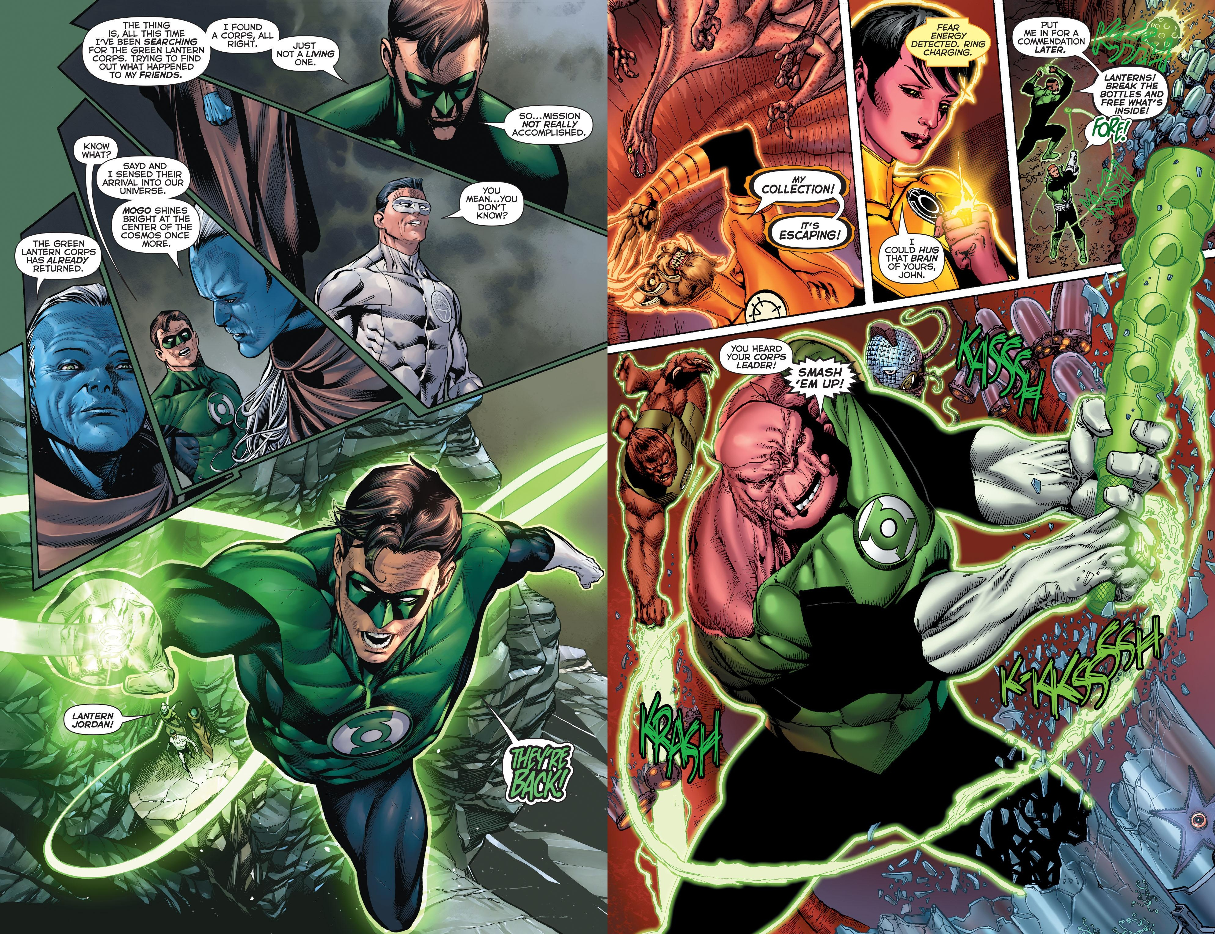 Hal Jordan and the Green Lantern Corps - Bottled Light review