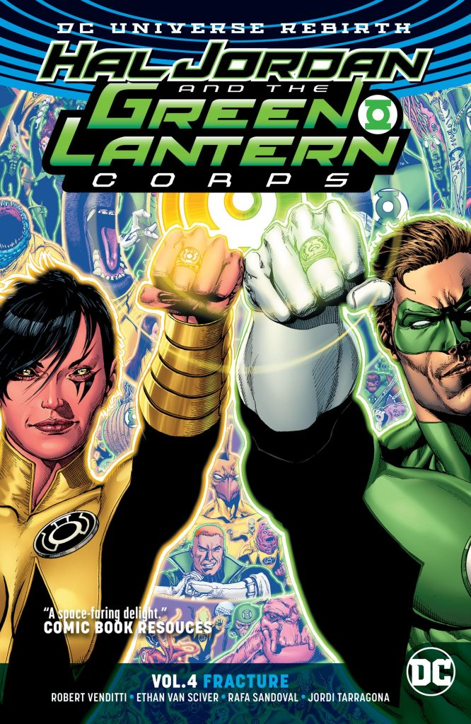 Hal Jordan and the Green Lantern Corps Vol. 4: Fracture