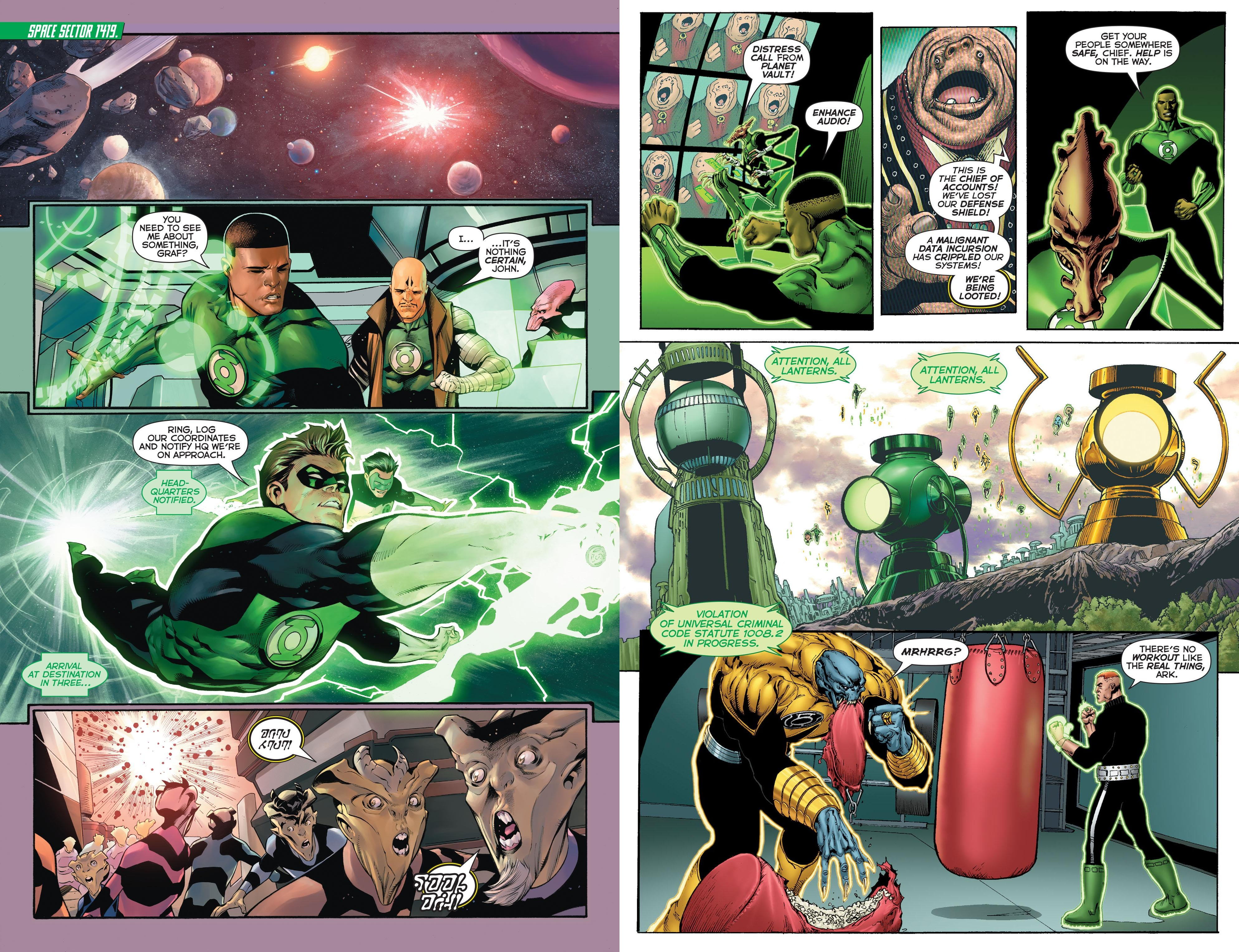 Hal Jordan and the Green Lantern Corps - Fracture review