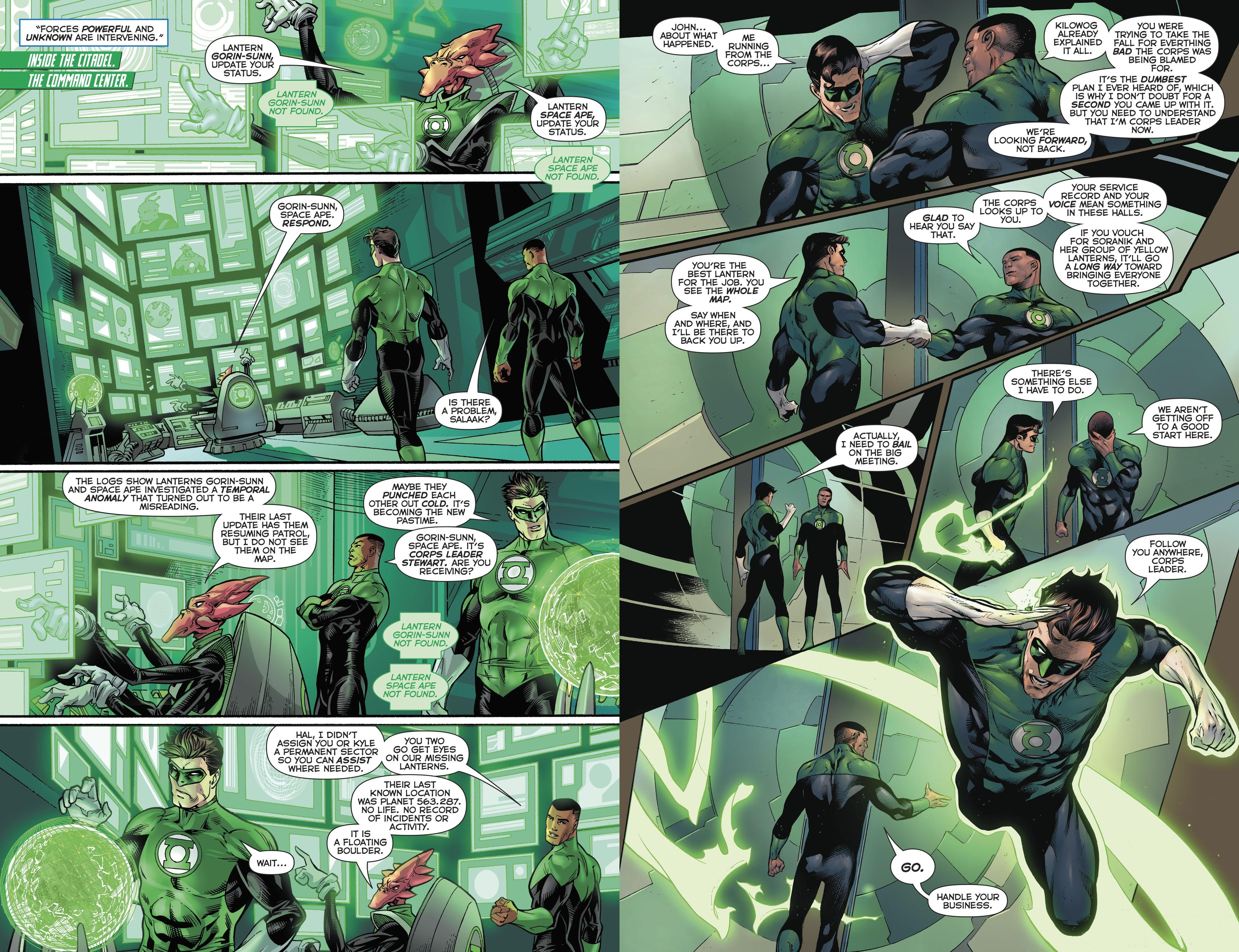 Hal Jordan and the Green Lantern Corps - Quest for Hope review