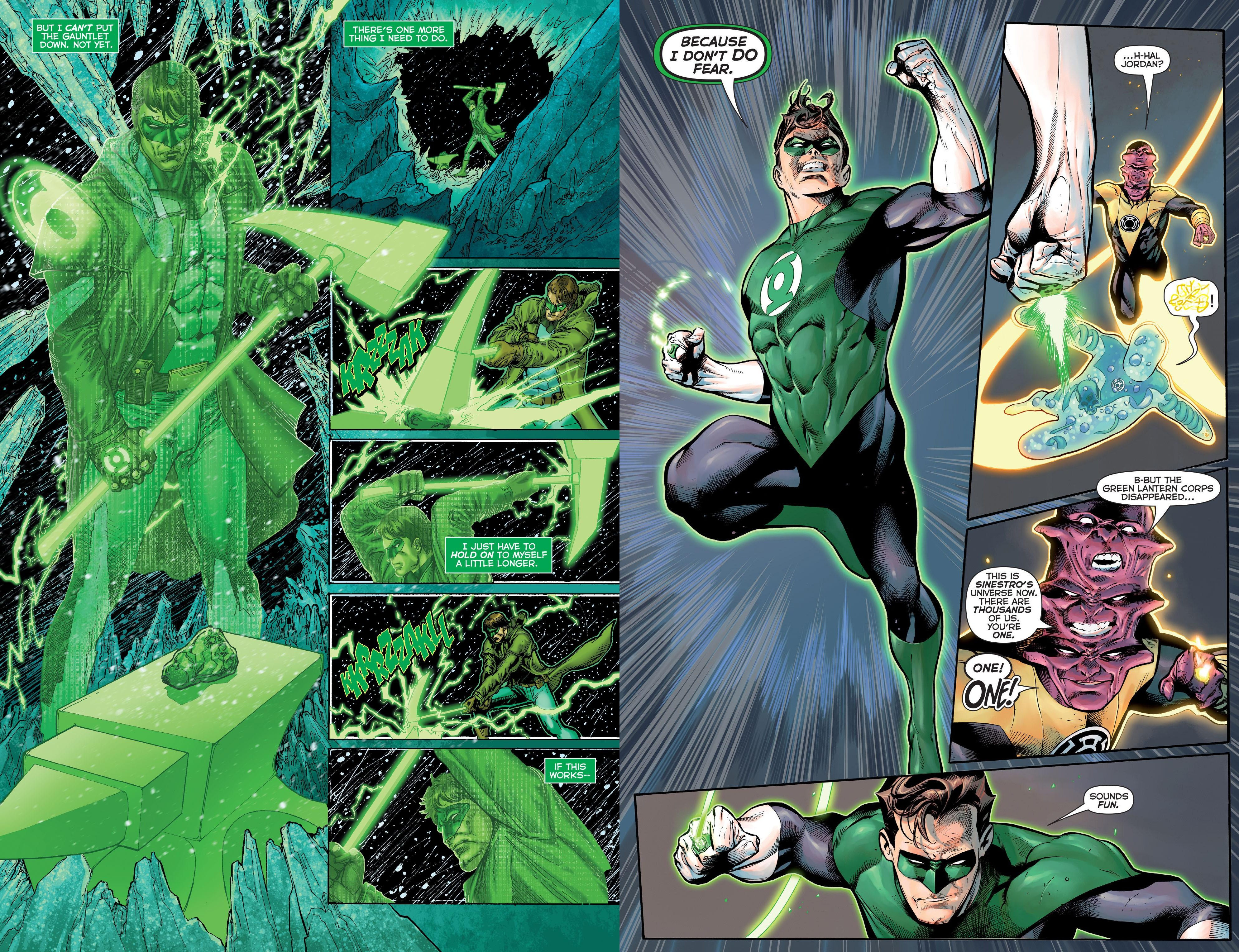 Hal Jordan and the Green Lantern Corps - Sinestro's Law review