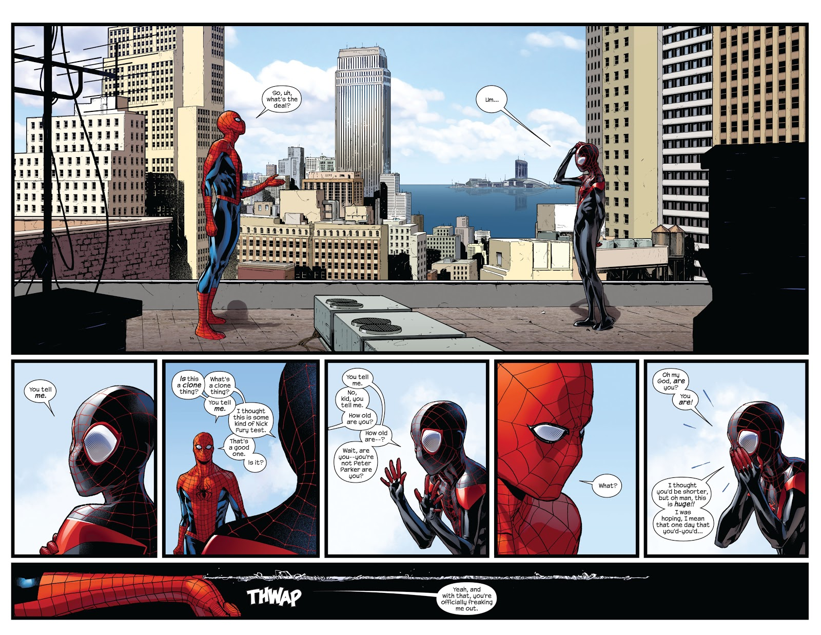 Spider-Men review