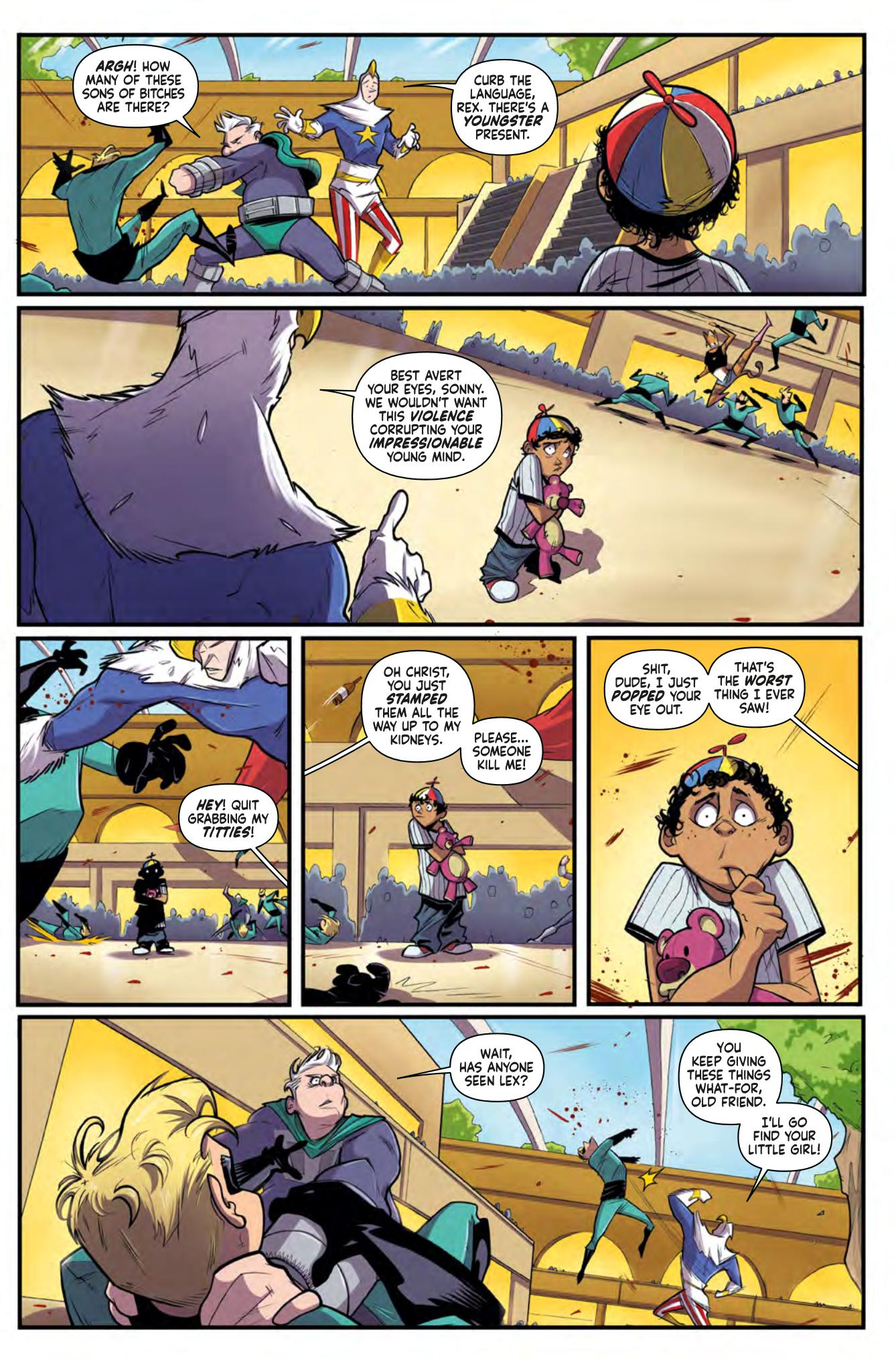 Supermansion graphic novel review