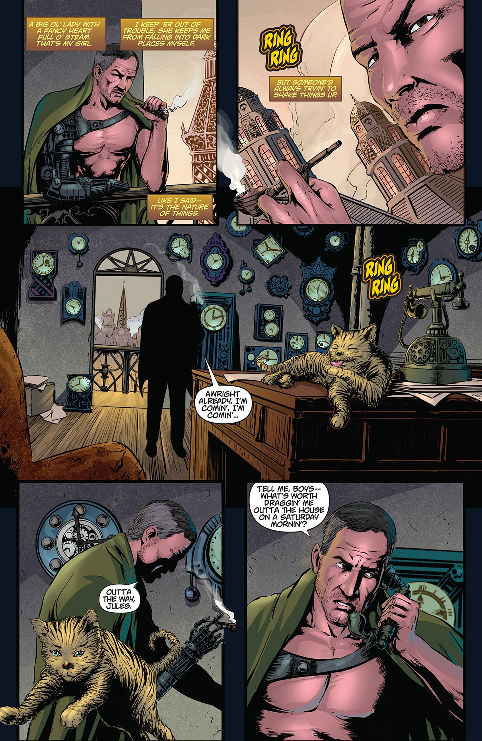 The Precinct graphic novel review