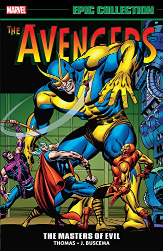 Marvel Epic Collection: The Avengers – Masters of Evil