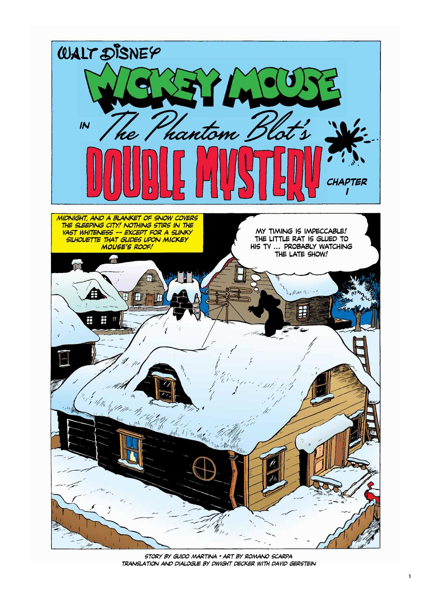 Disney Masters The Phantom Blot's Double Mystery int