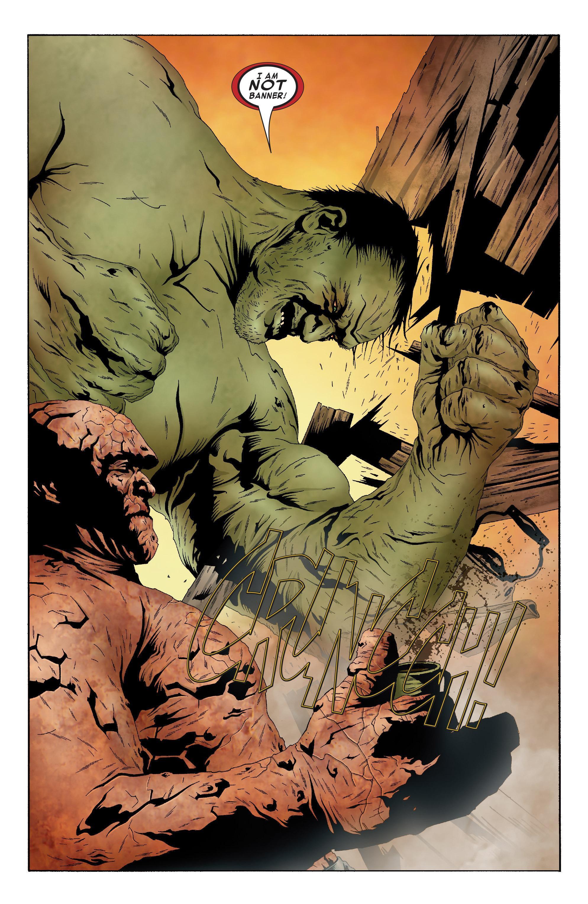Hulk &; Thing - Hard Knocks review