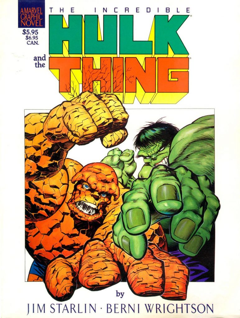 The Incredible Hulk and the Thing: The Big Change