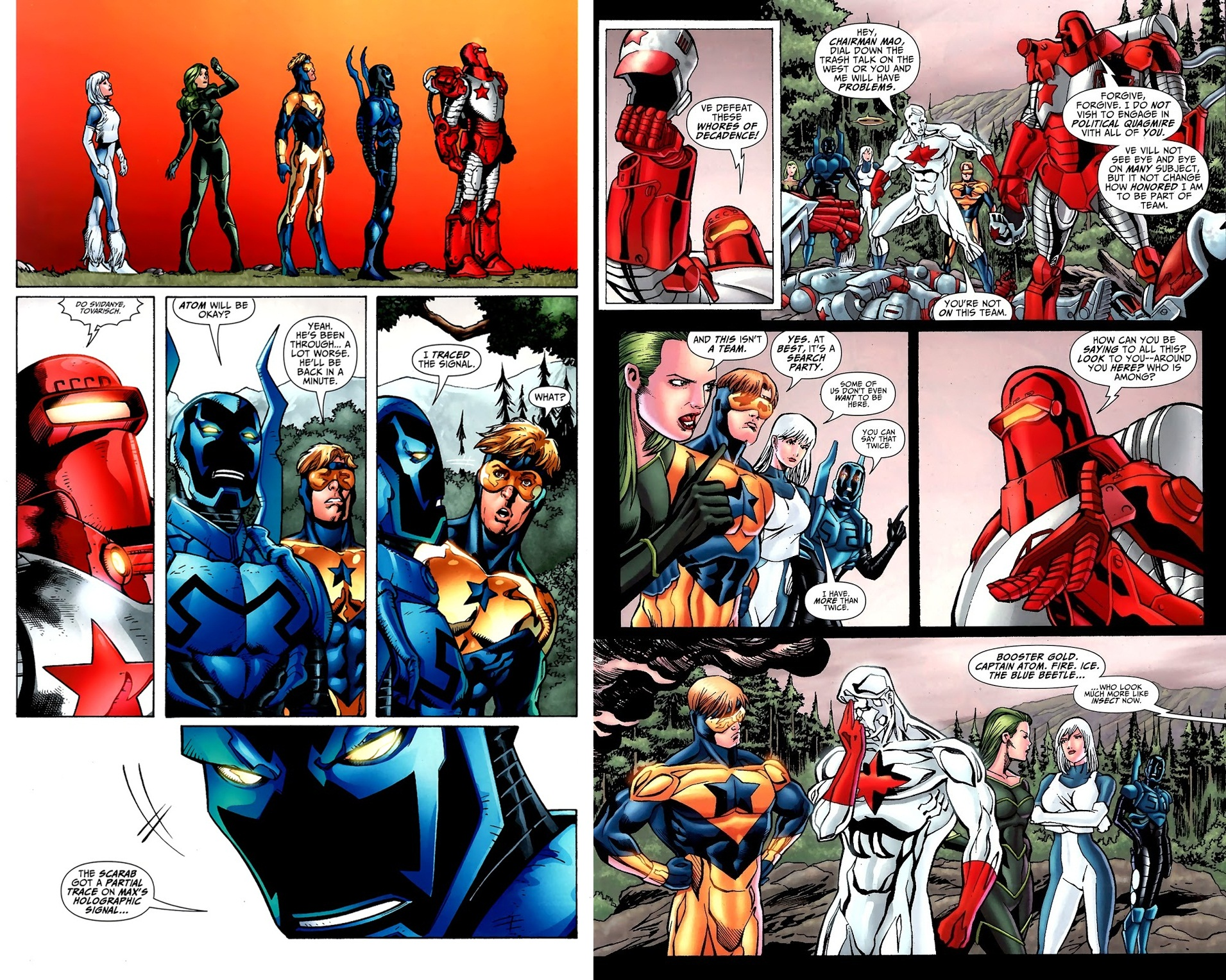 Justice League Generation Lost V1 review
