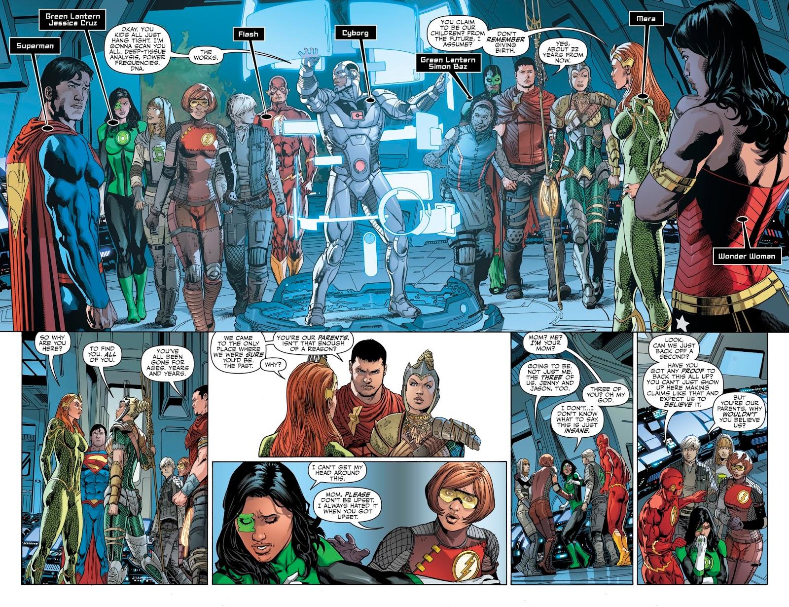 Justice League Legacy review