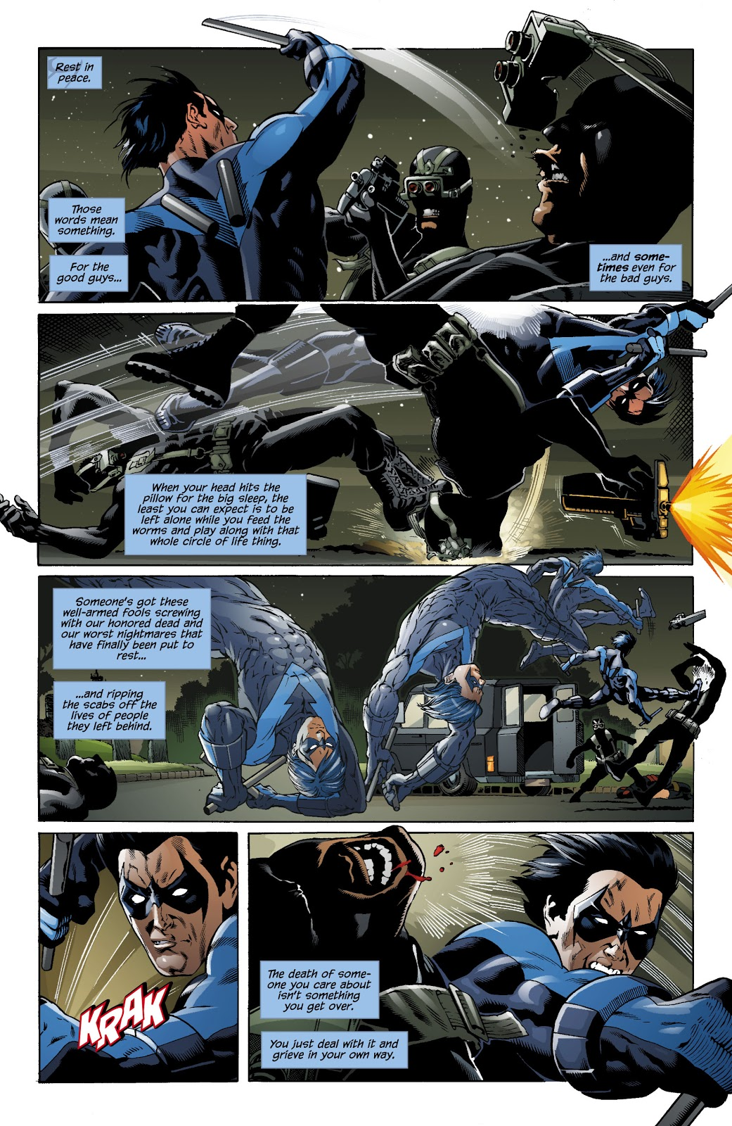 Nightwing Freefall review