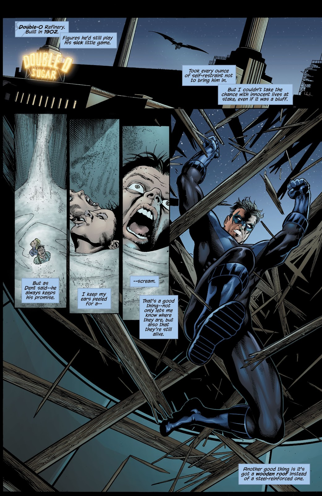 Nightwing The Great Leap review