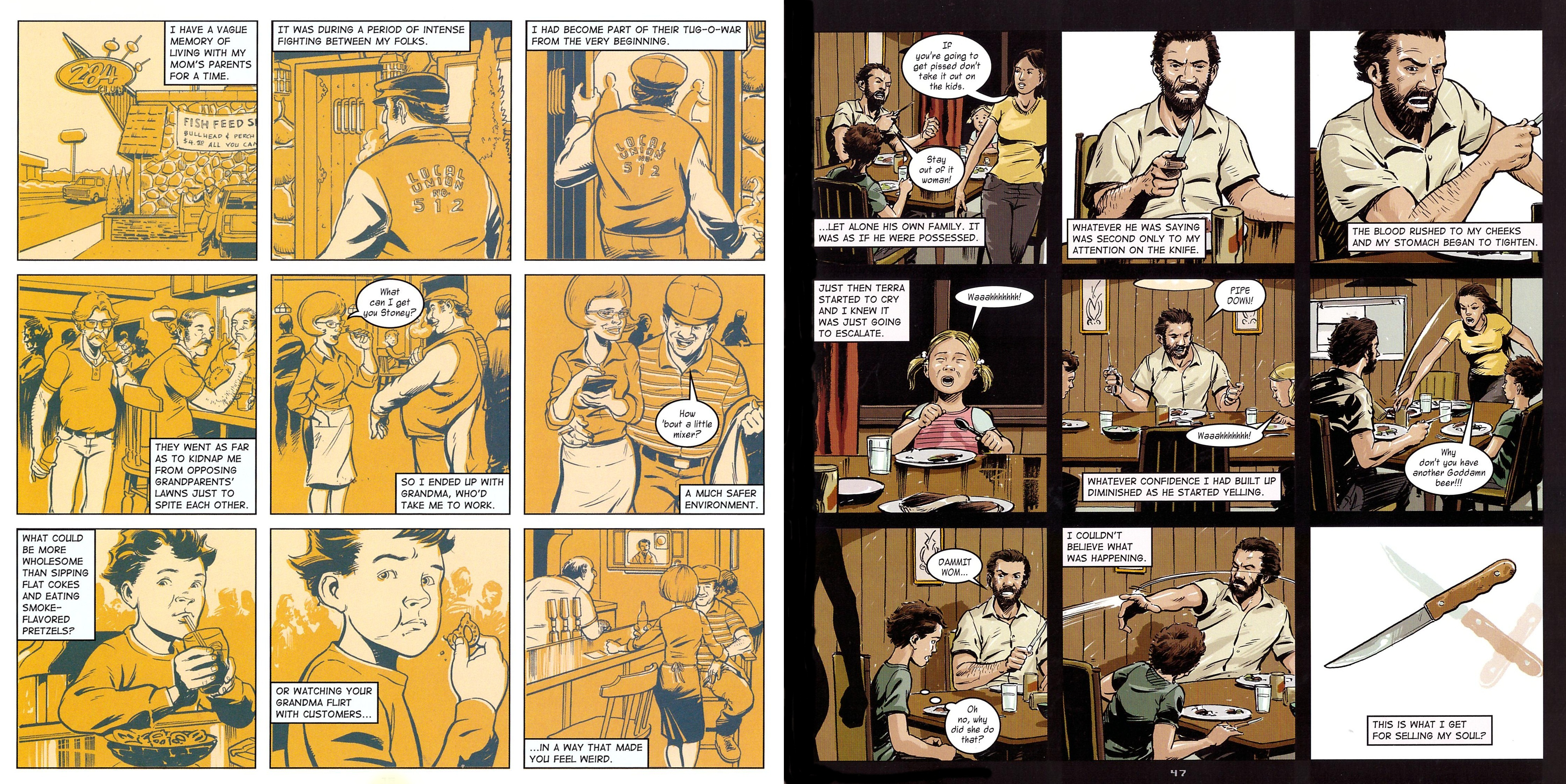 North Country graphic novel review