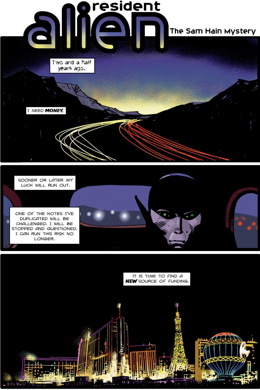 Resident Alien The Sam Hain Mystery