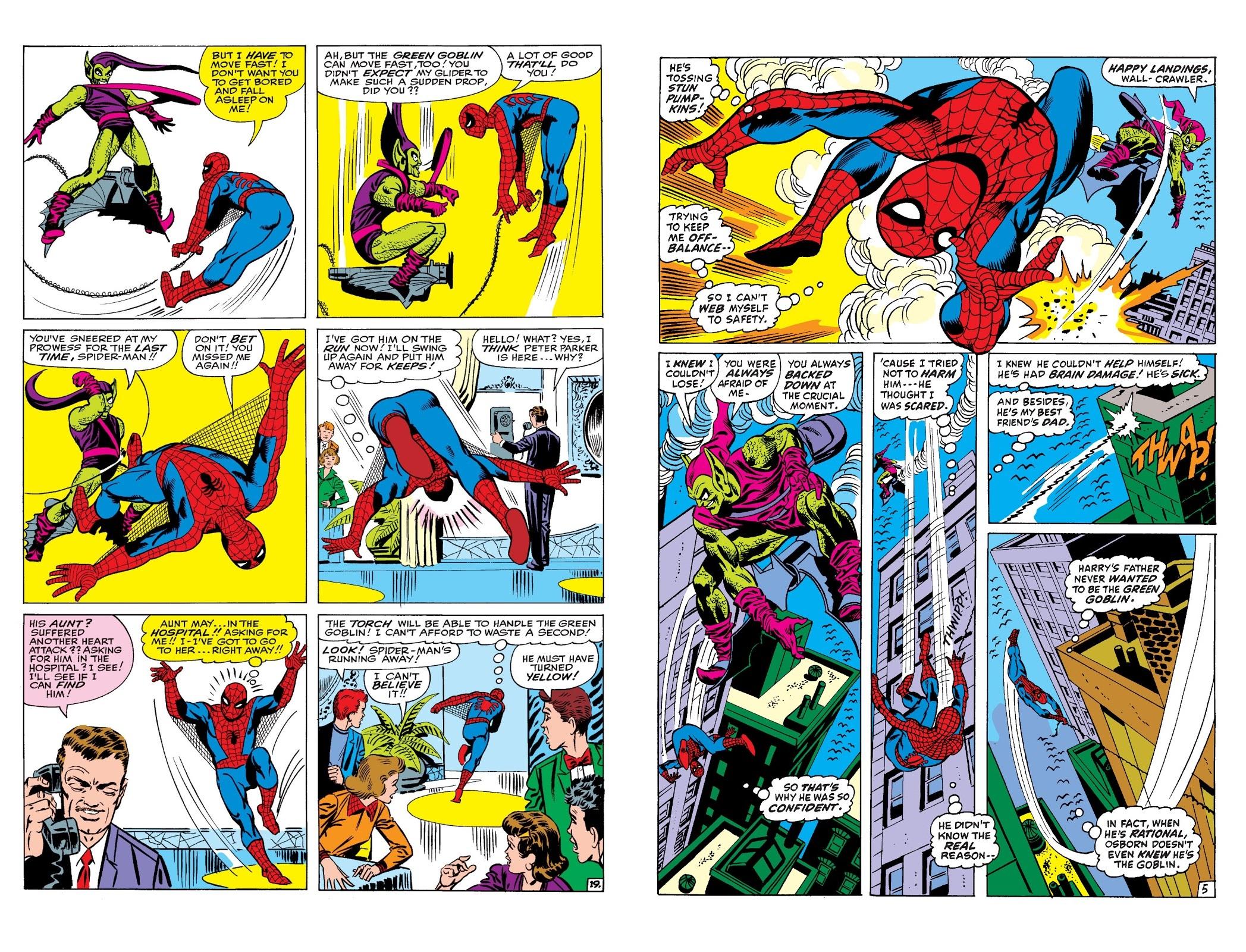 Spider-Man vs Green Goblin review