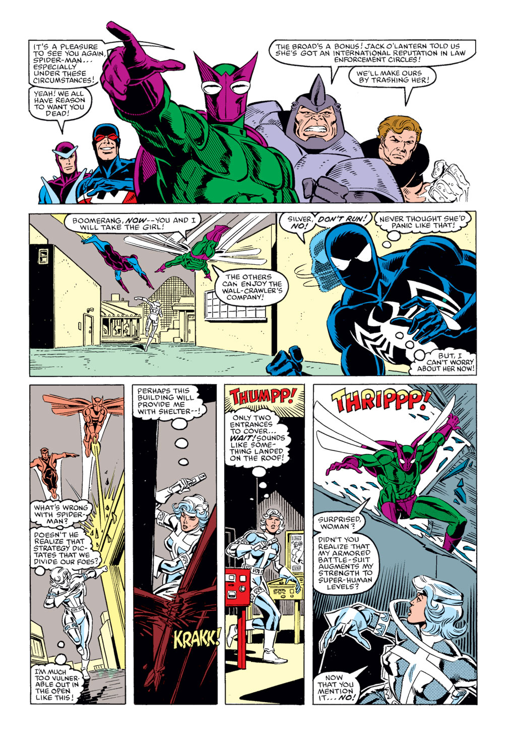 Spider-Man vs Silver Sable review