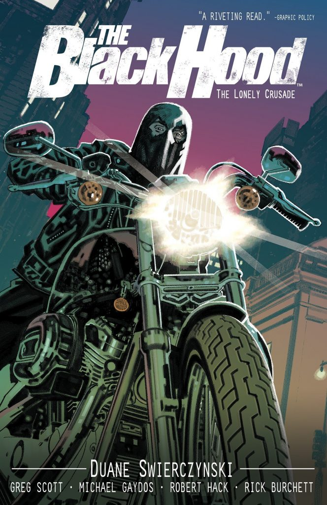 The Black Hood: The Lonely Crusade