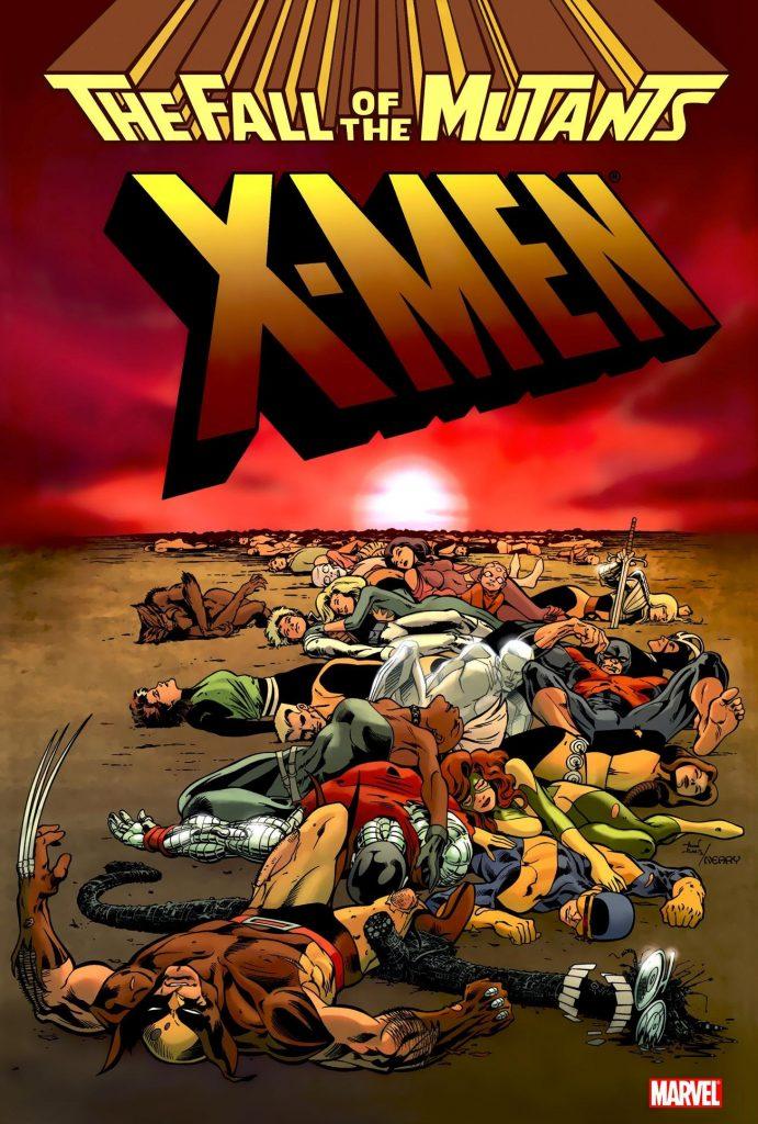 X-Men: The Fall of the Mutants Omnibus