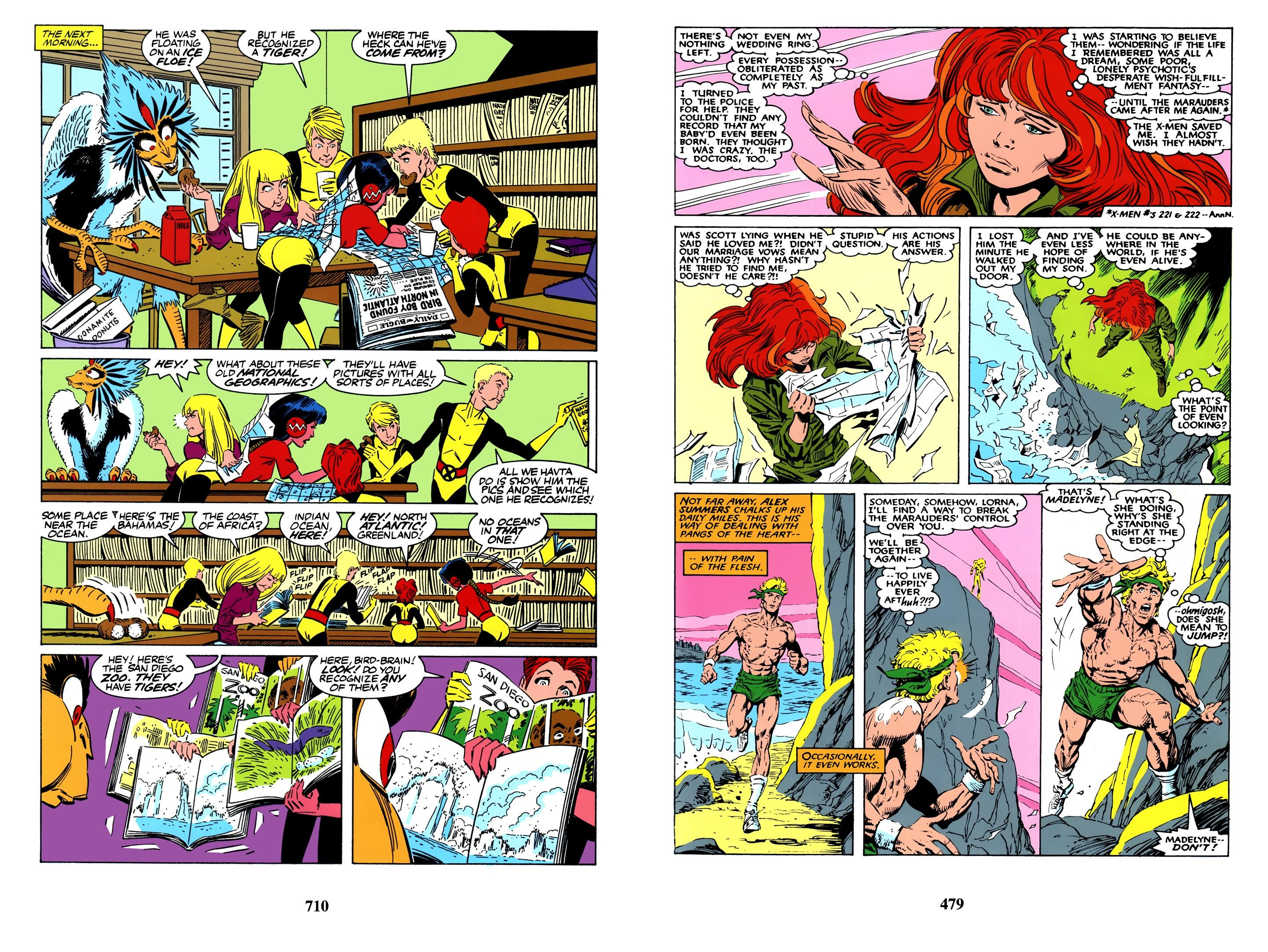X-Men The Fall of the Mutants Omnibus review