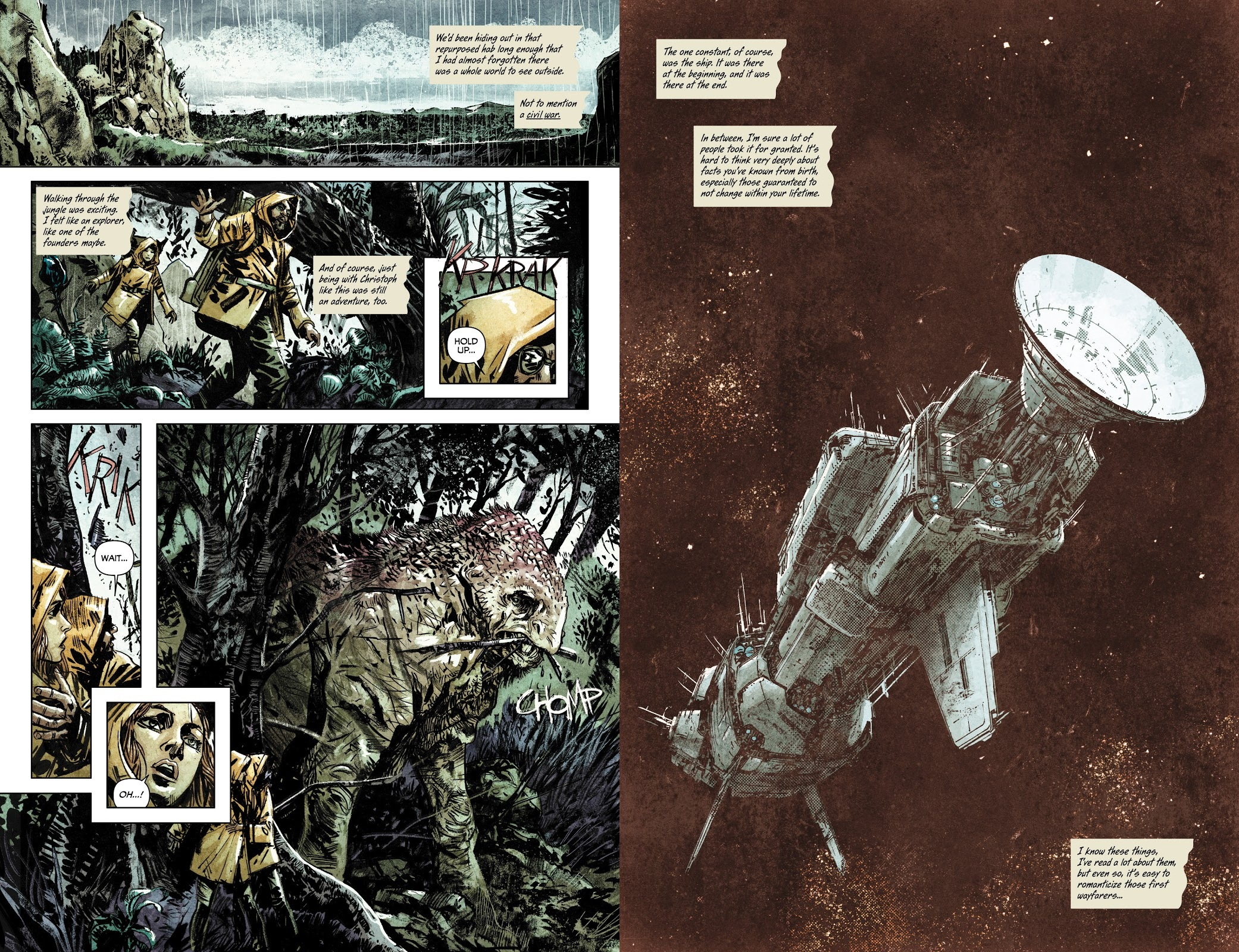 Invisible Republic 03 review