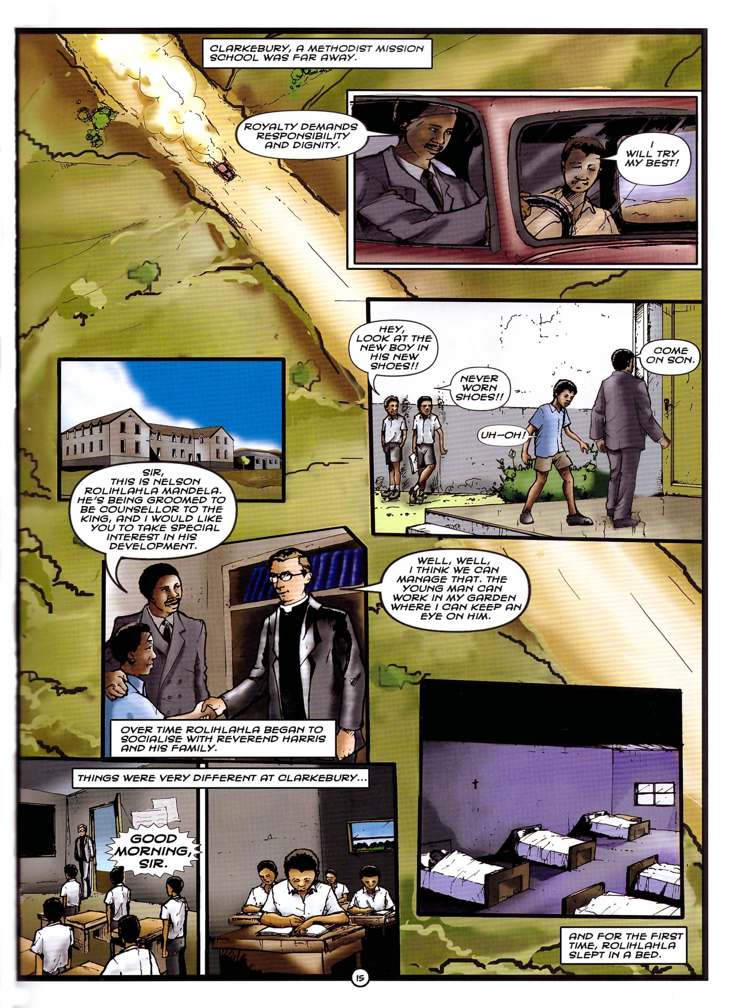 Mandela The Graphic Novel review