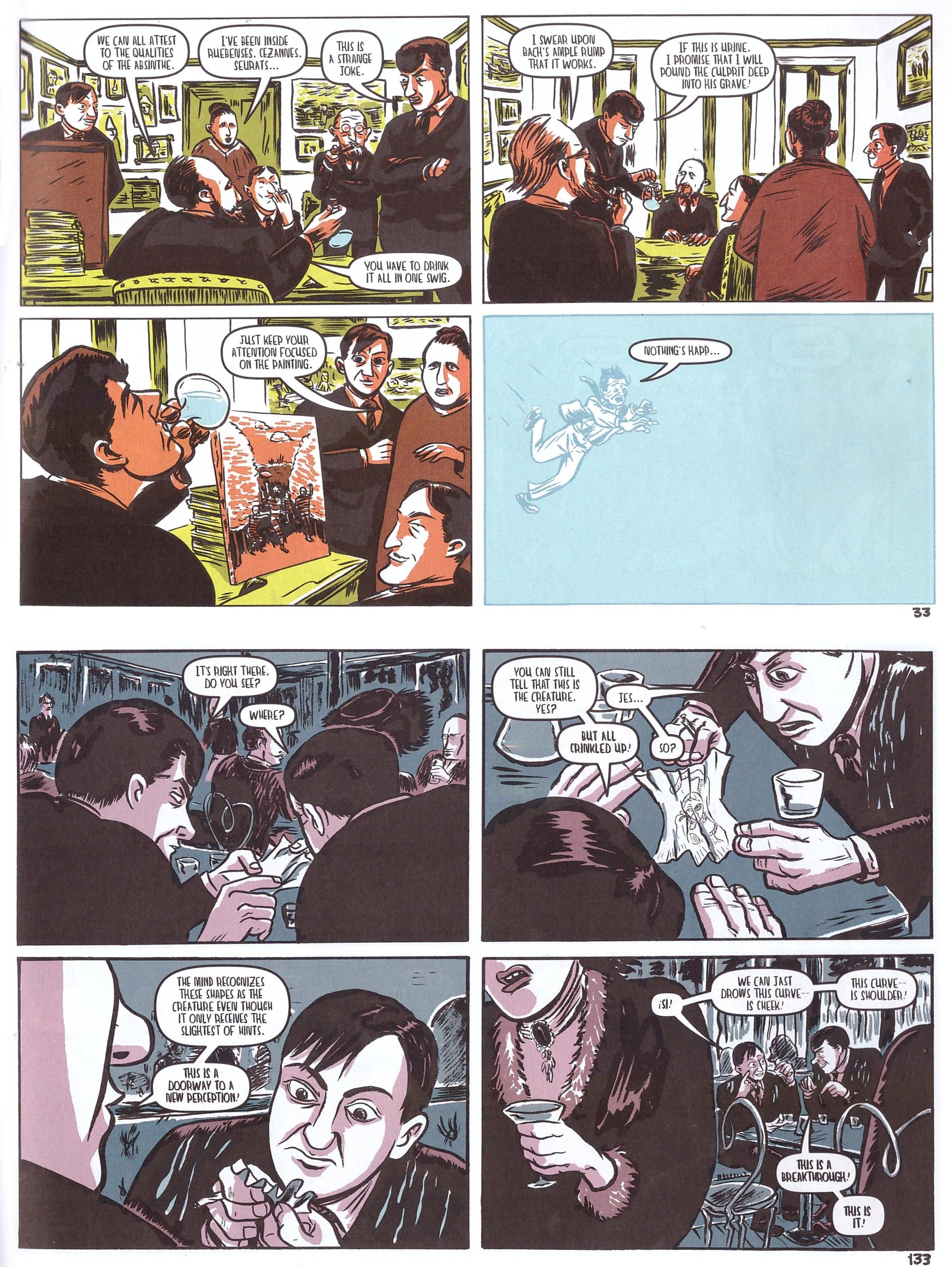 The Salon graphic novel review