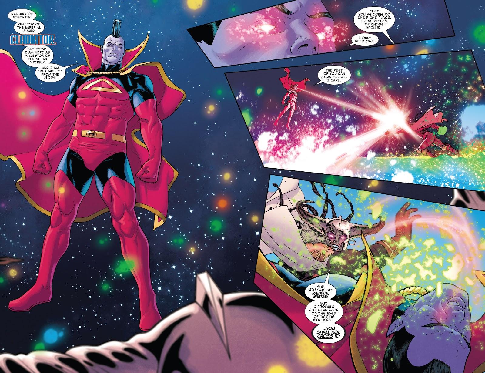 Thor The Asgard Shi'ar War review
